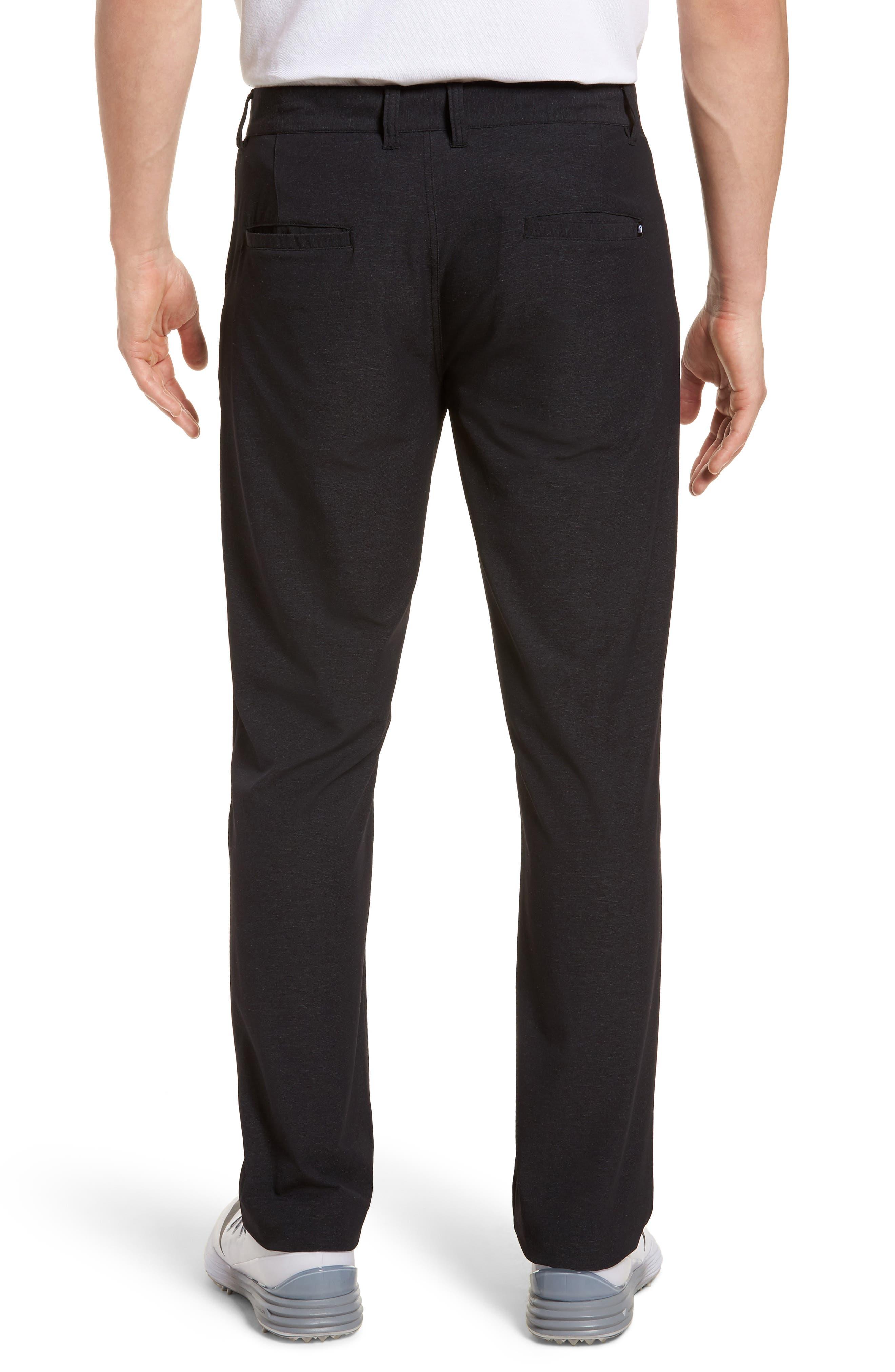 Mercurio Regular Fit Four-Way Stretch Pants,                             Alternate thumbnail 2, color,                             HEATHER BLACK