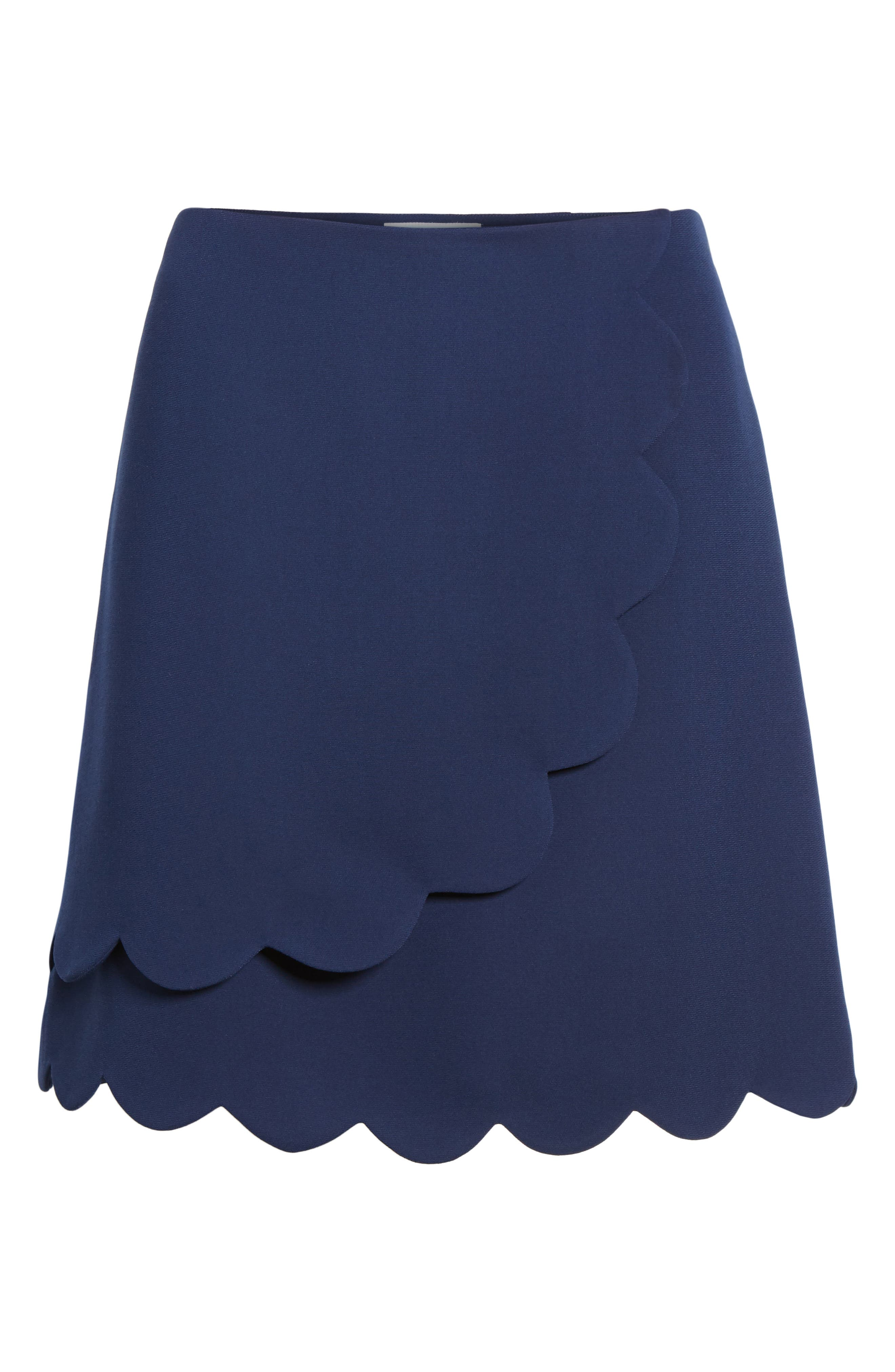 Scallop Skirt,                             Alternate thumbnail 6, color,                             432