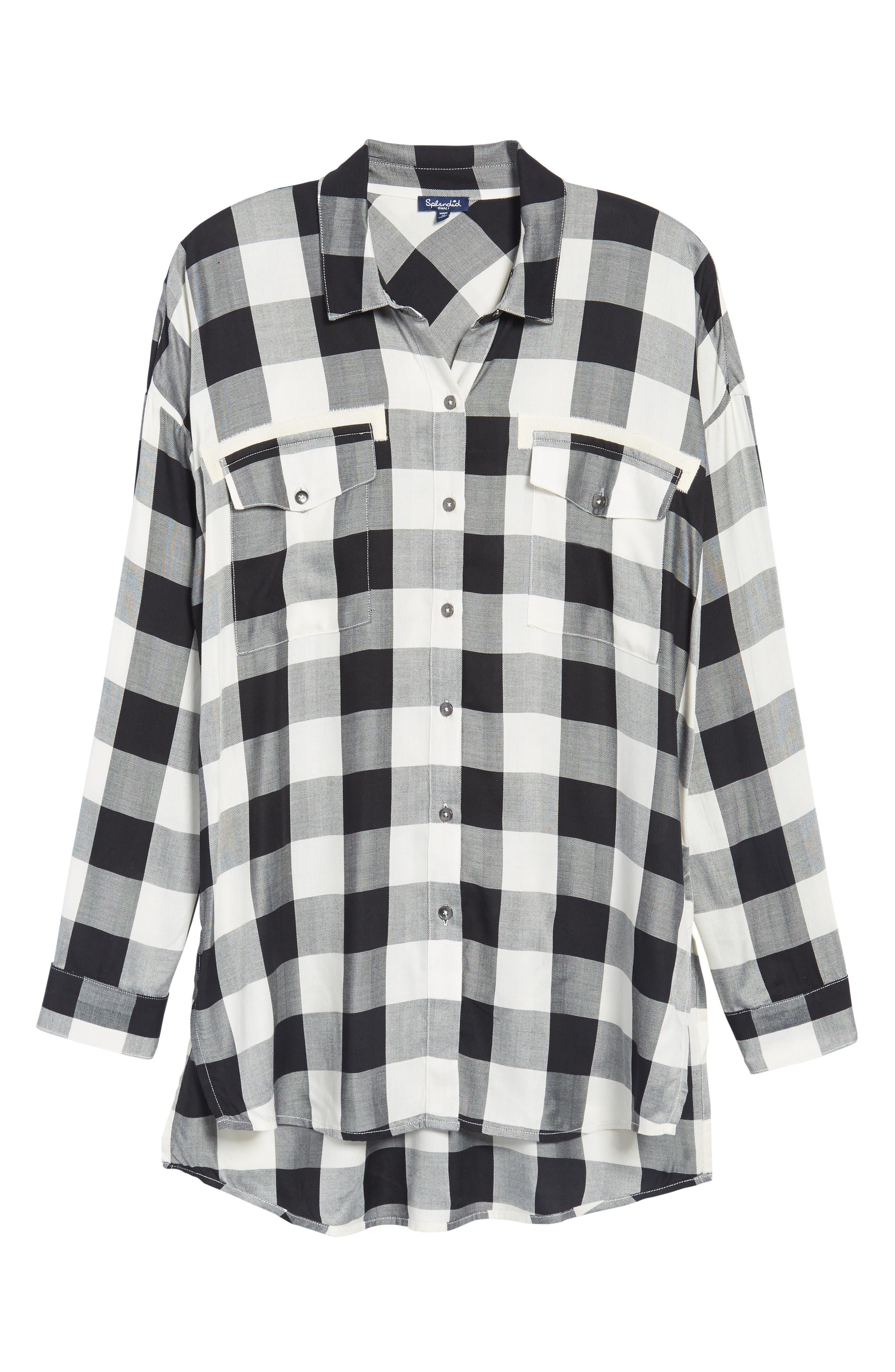 Buffalo Check Shirt,                             Alternate thumbnail 6, color,                             900
