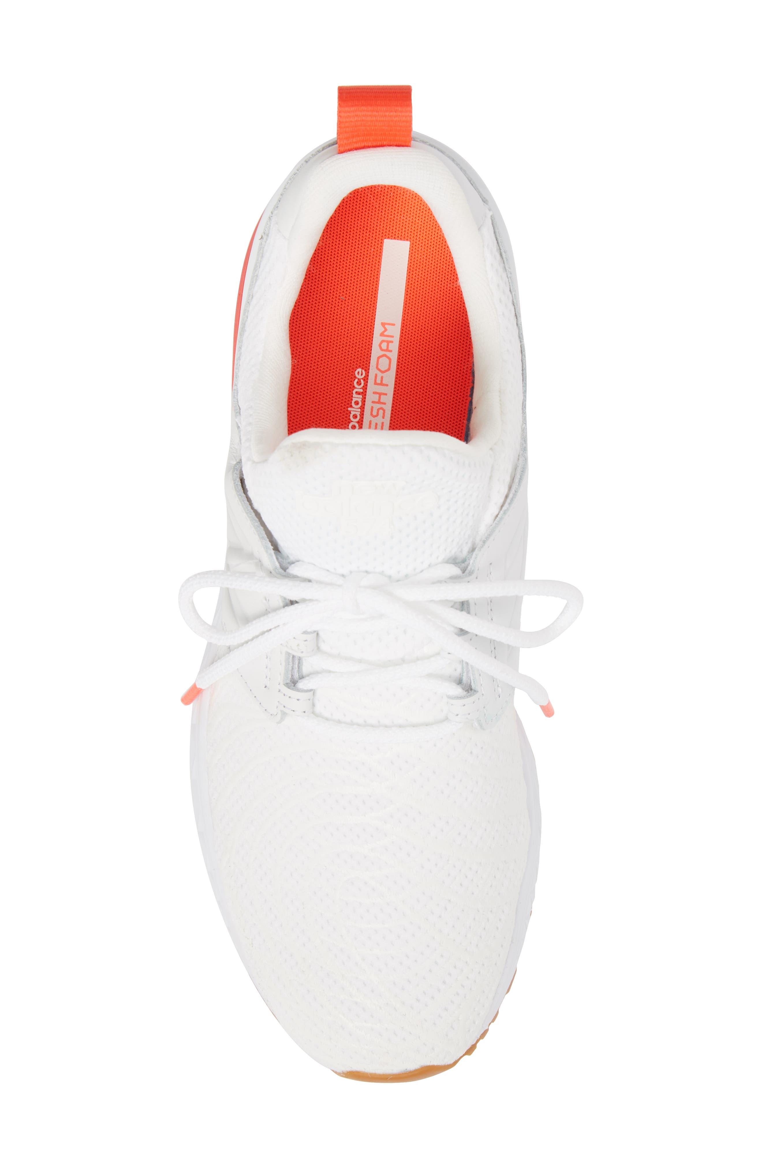 574 Sport Sneaker,                             Alternate thumbnail 5, color,                             WHITE