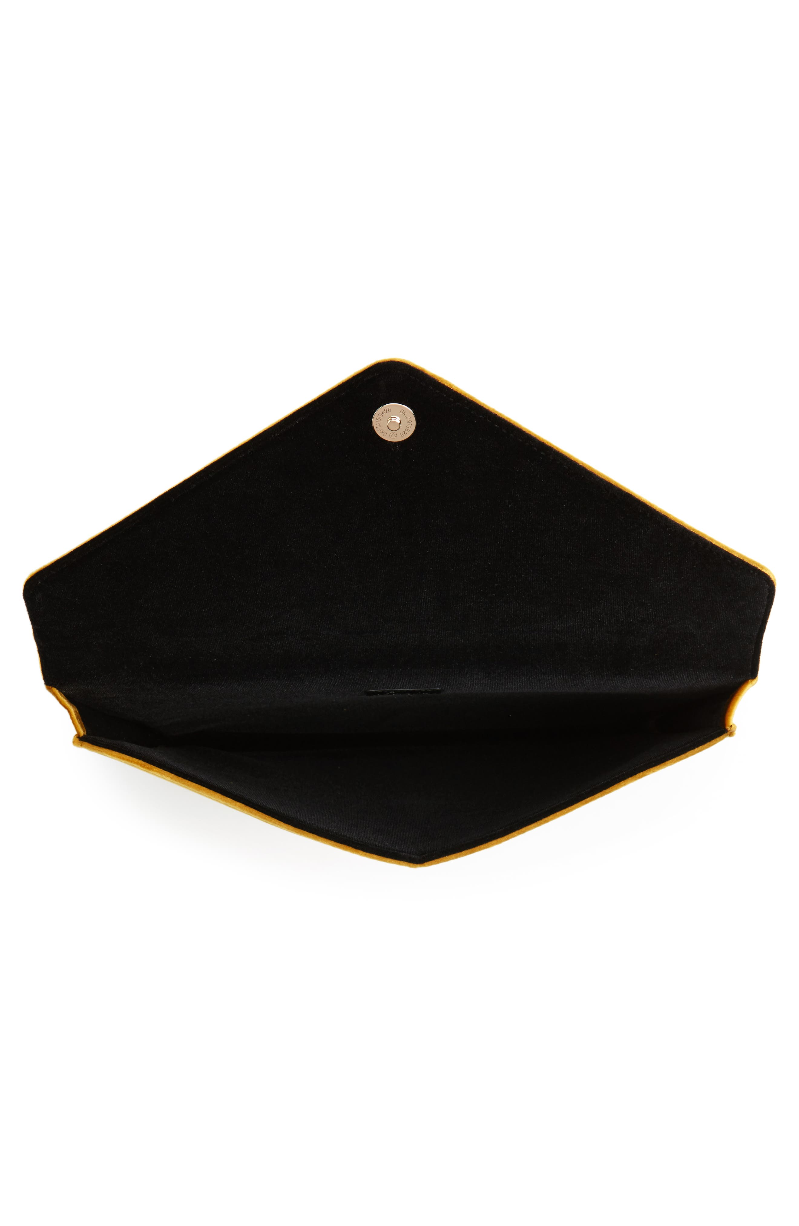 Canary Velvet Laptop Clutch,                             Alternate thumbnail 2, color,                             710