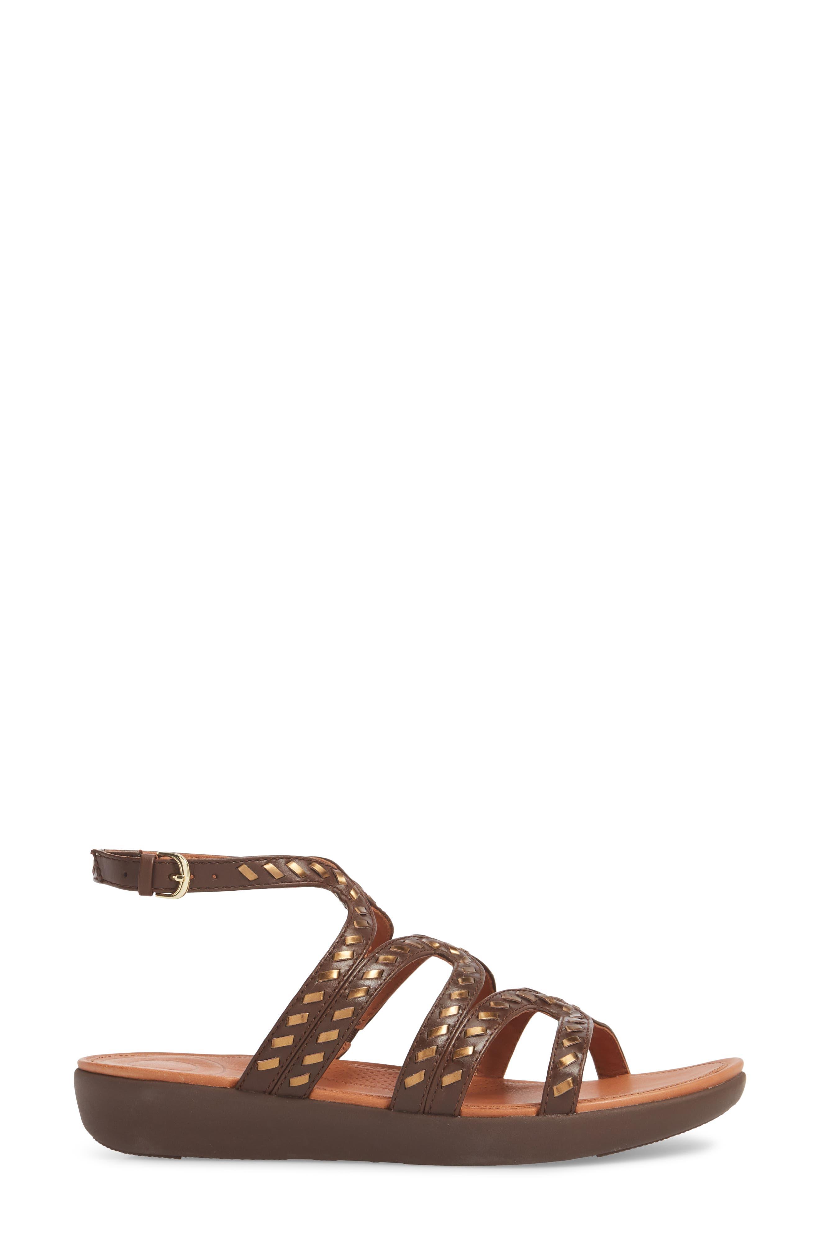 Strata Gladiator Sandal,                             Alternate thumbnail 3, color,                             200