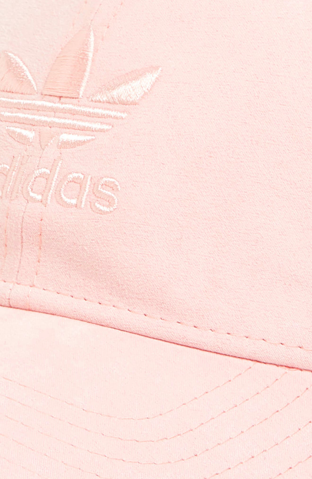 Relaxed Plus Ball Cap,                             Alternate thumbnail 3, color,                             BLUSH PINK