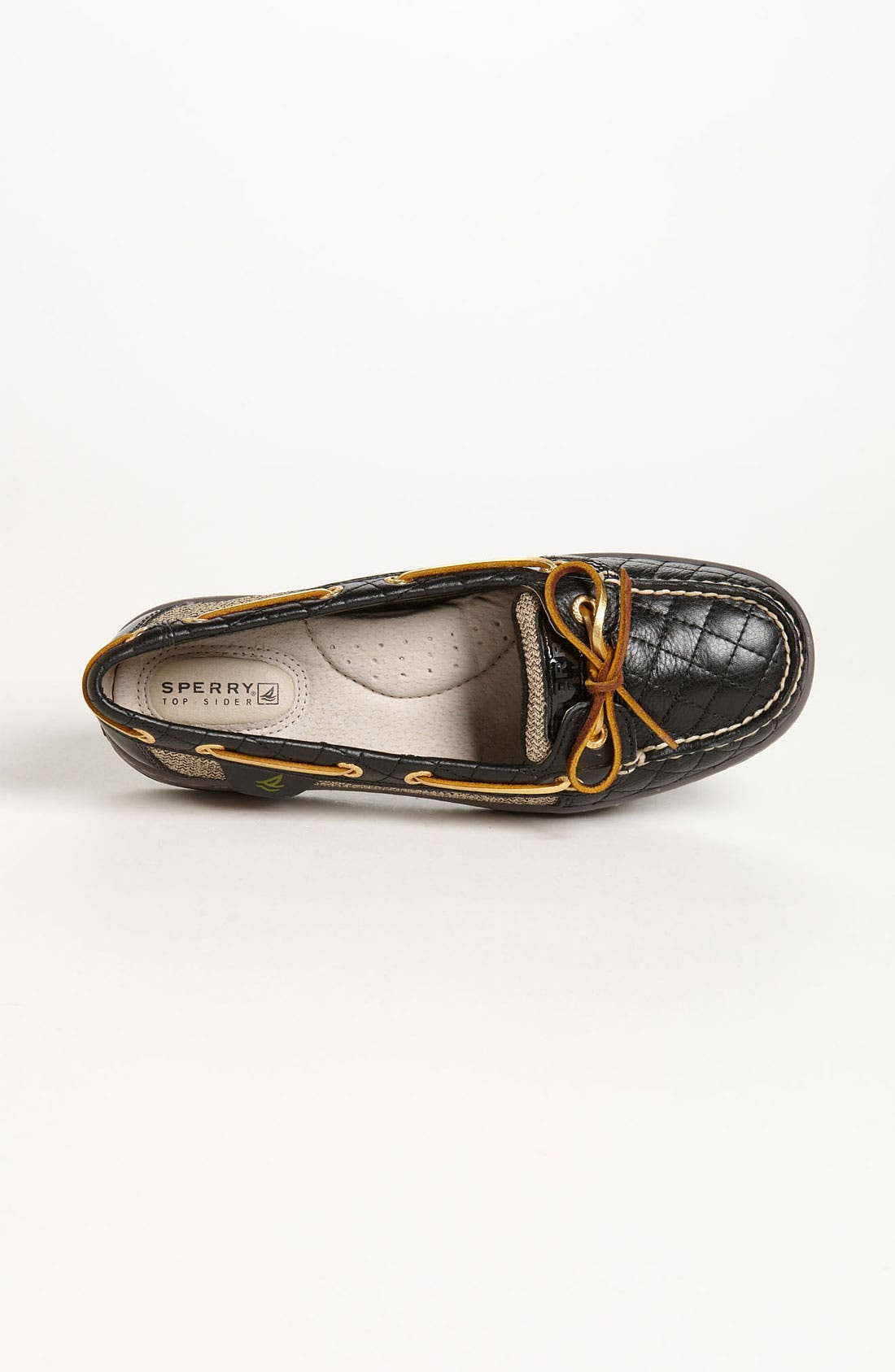 Top-Sider<sup>®</sup> 'Angelfish - Quilted' Boat Shoe,                             Alternate thumbnail 4, color,