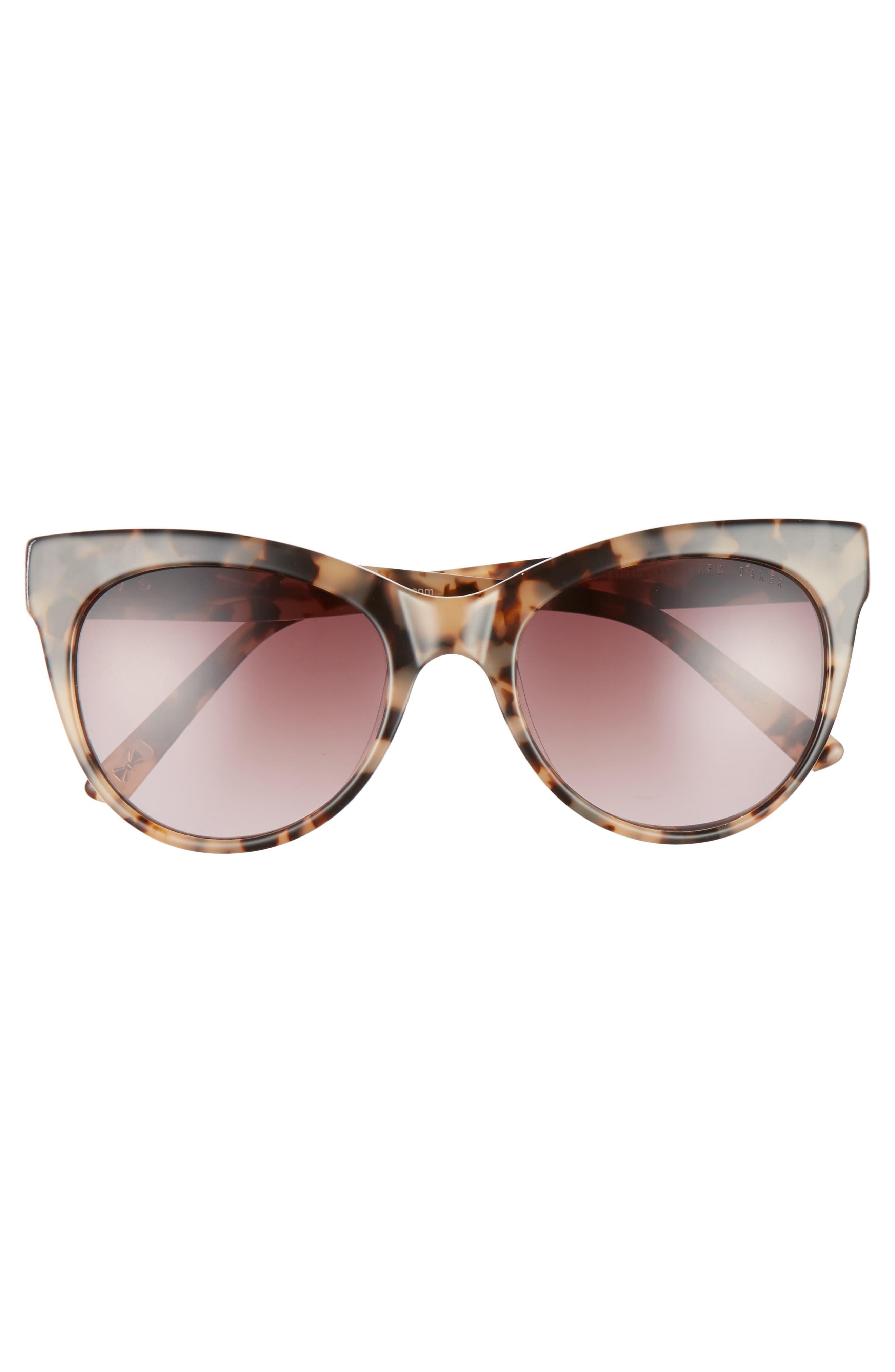 51mm Cat Eye Sunglasses,                             Alternate thumbnail 6, color,
