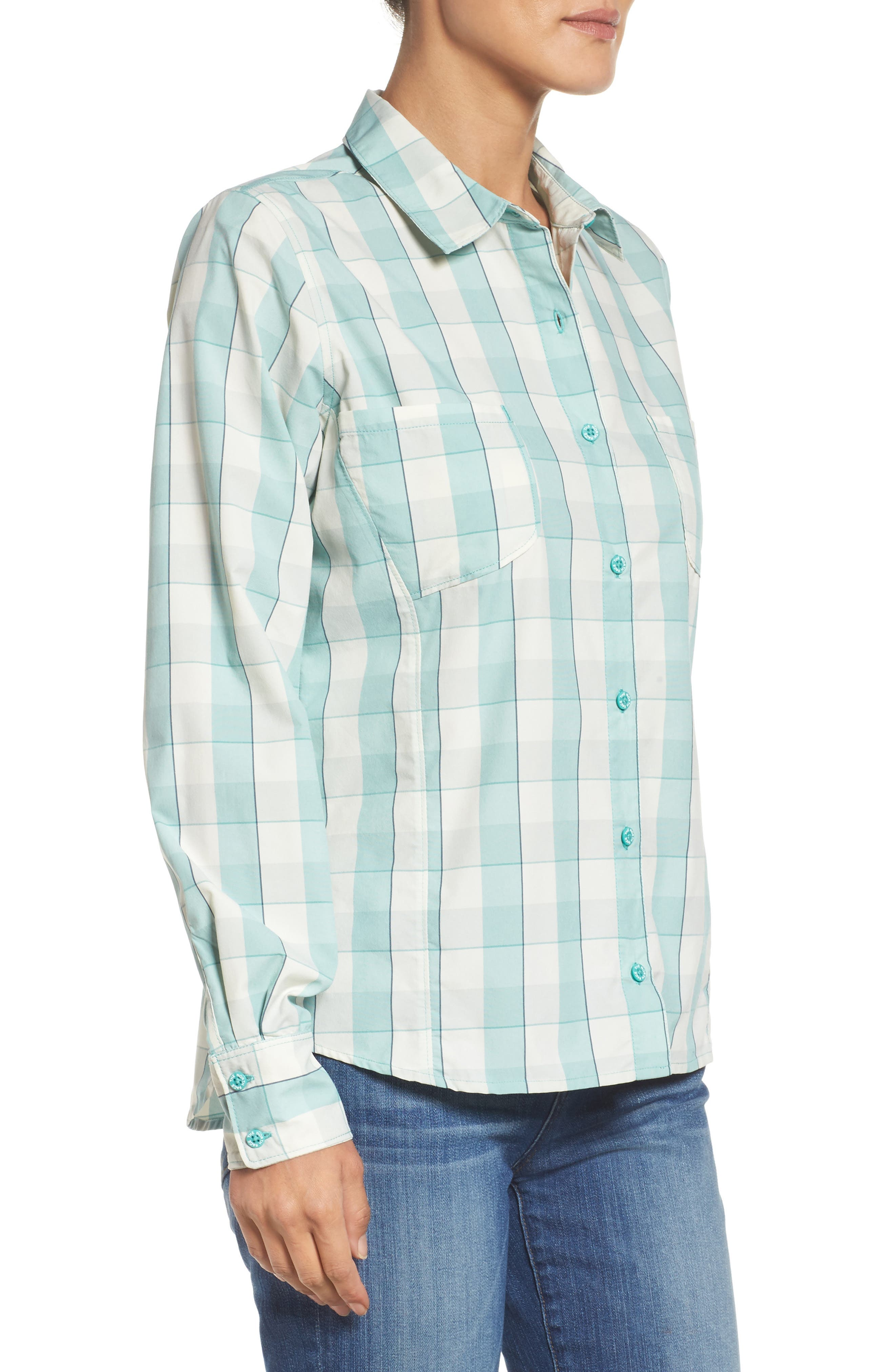 Sunblocker Twill Shirt,                             Alternate thumbnail 3, color,                             310