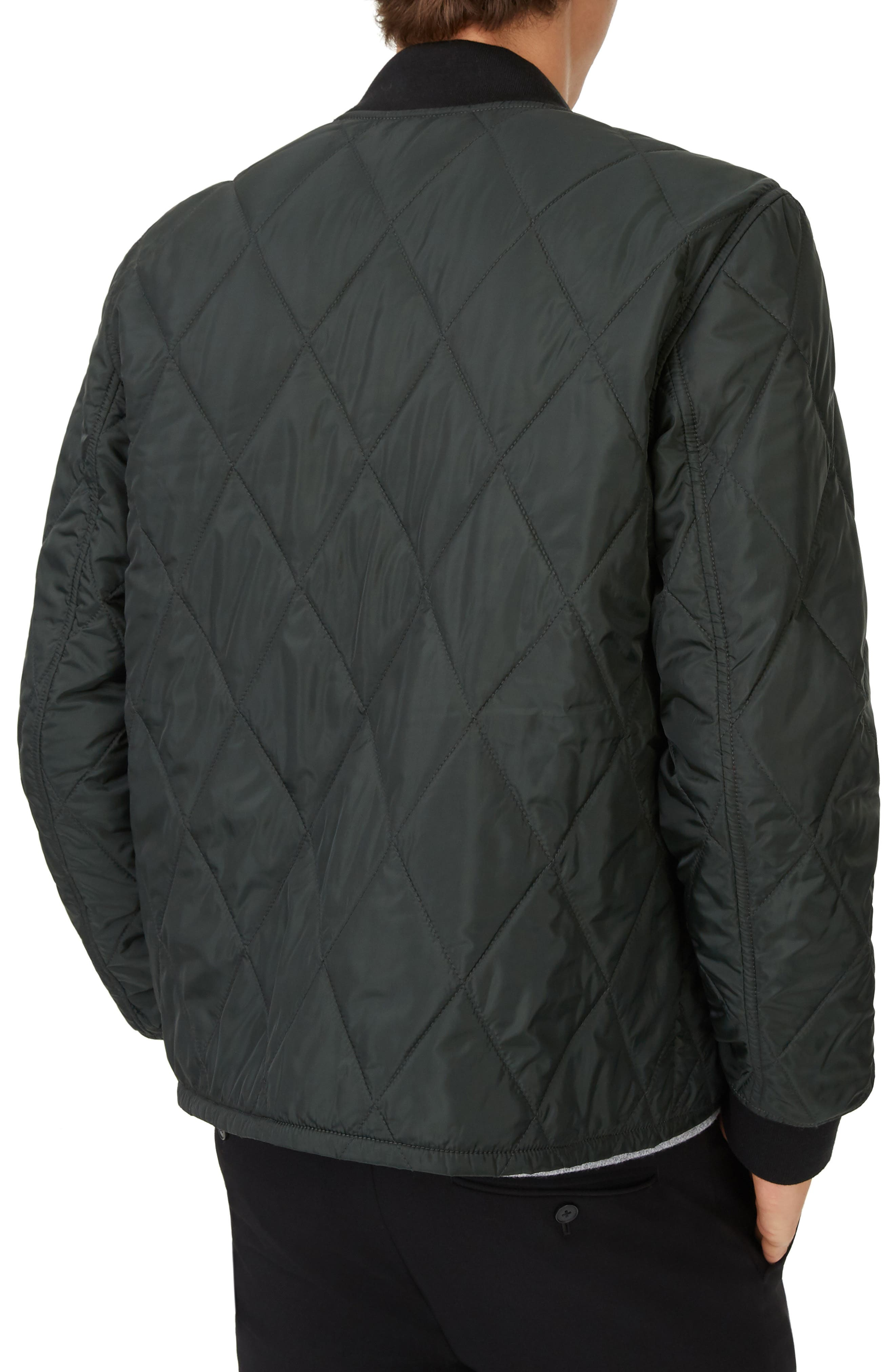 Quilted Jacket,                             Alternate thumbnail 2, color,                             COMBAT GREEN