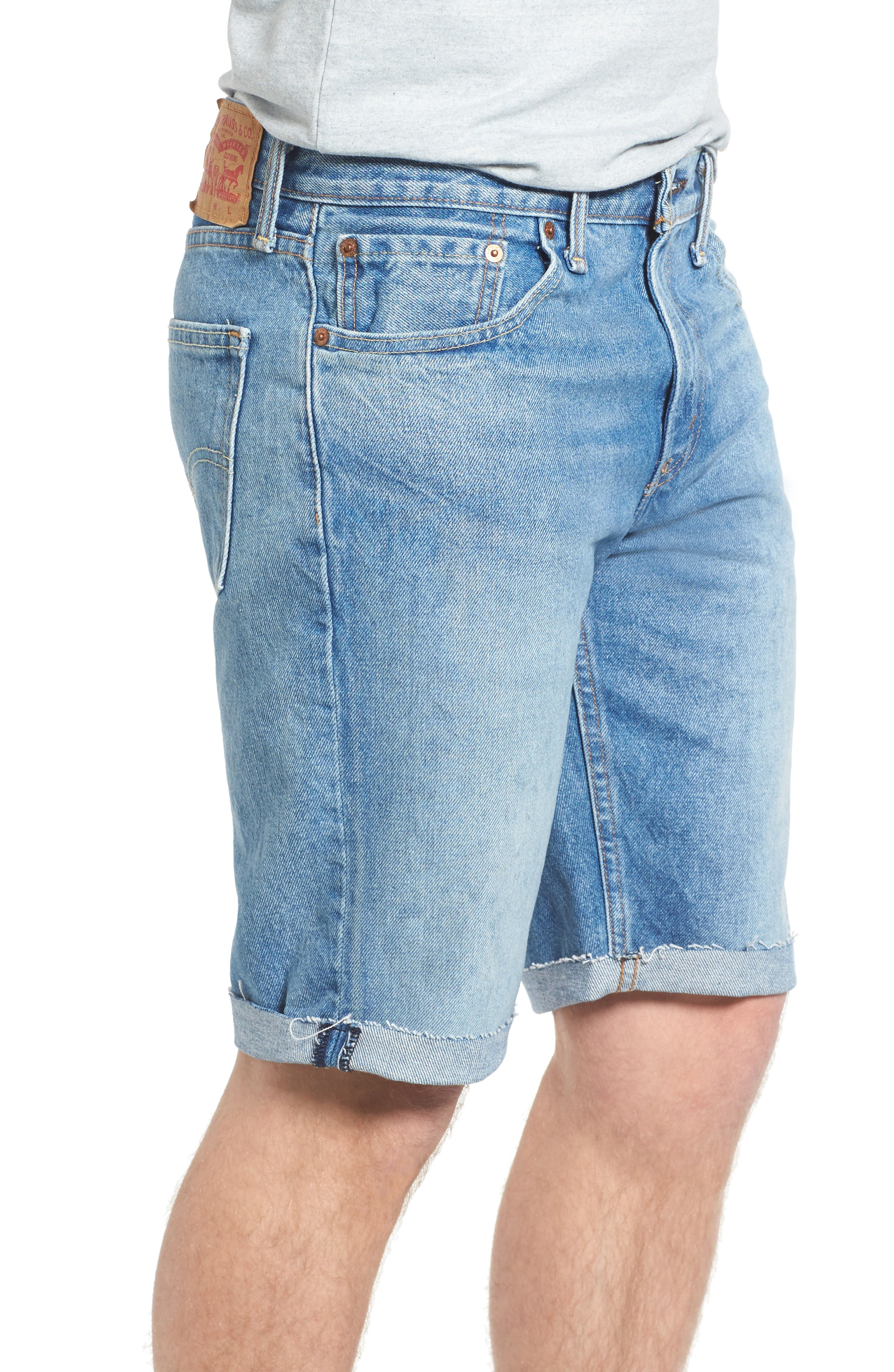 511<sup>™</sup> Cutoff Denim Shorts,                             Alternate thumbnail 3, color,                             420
