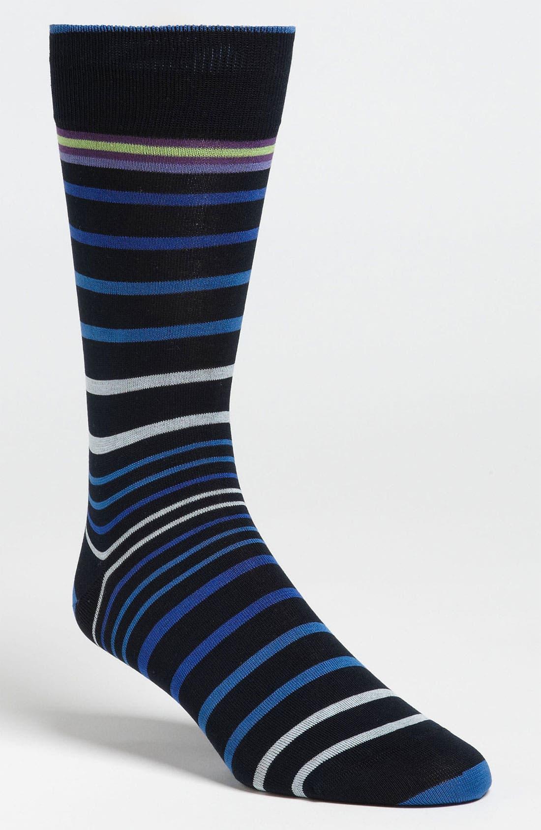 Stripe Socks,                             Main thumbnail 8, color,