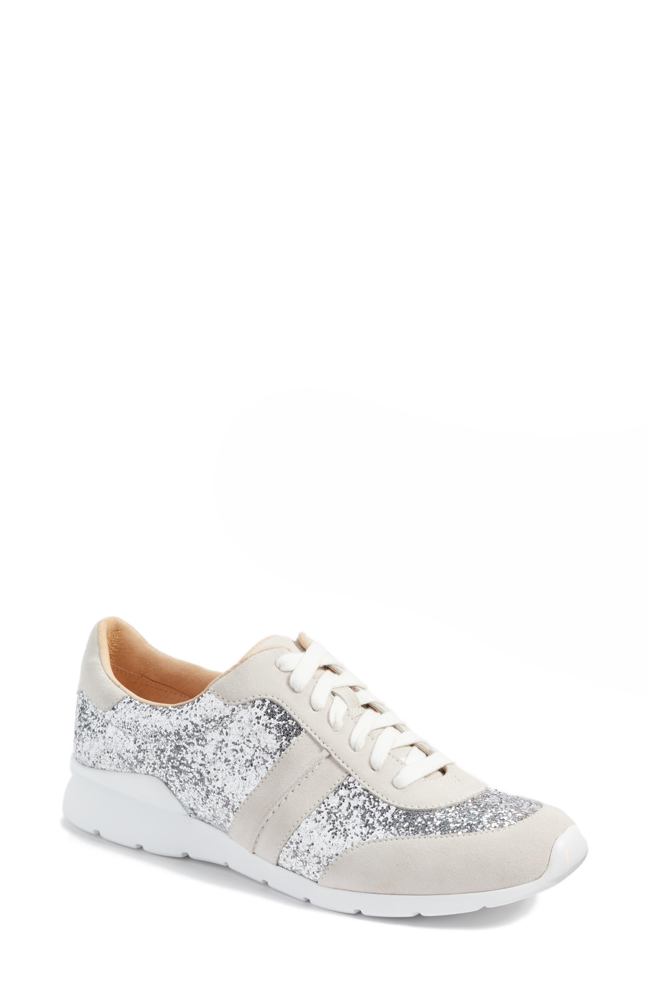Jaida Glitter Sneaker,                         Main,                         color, 040