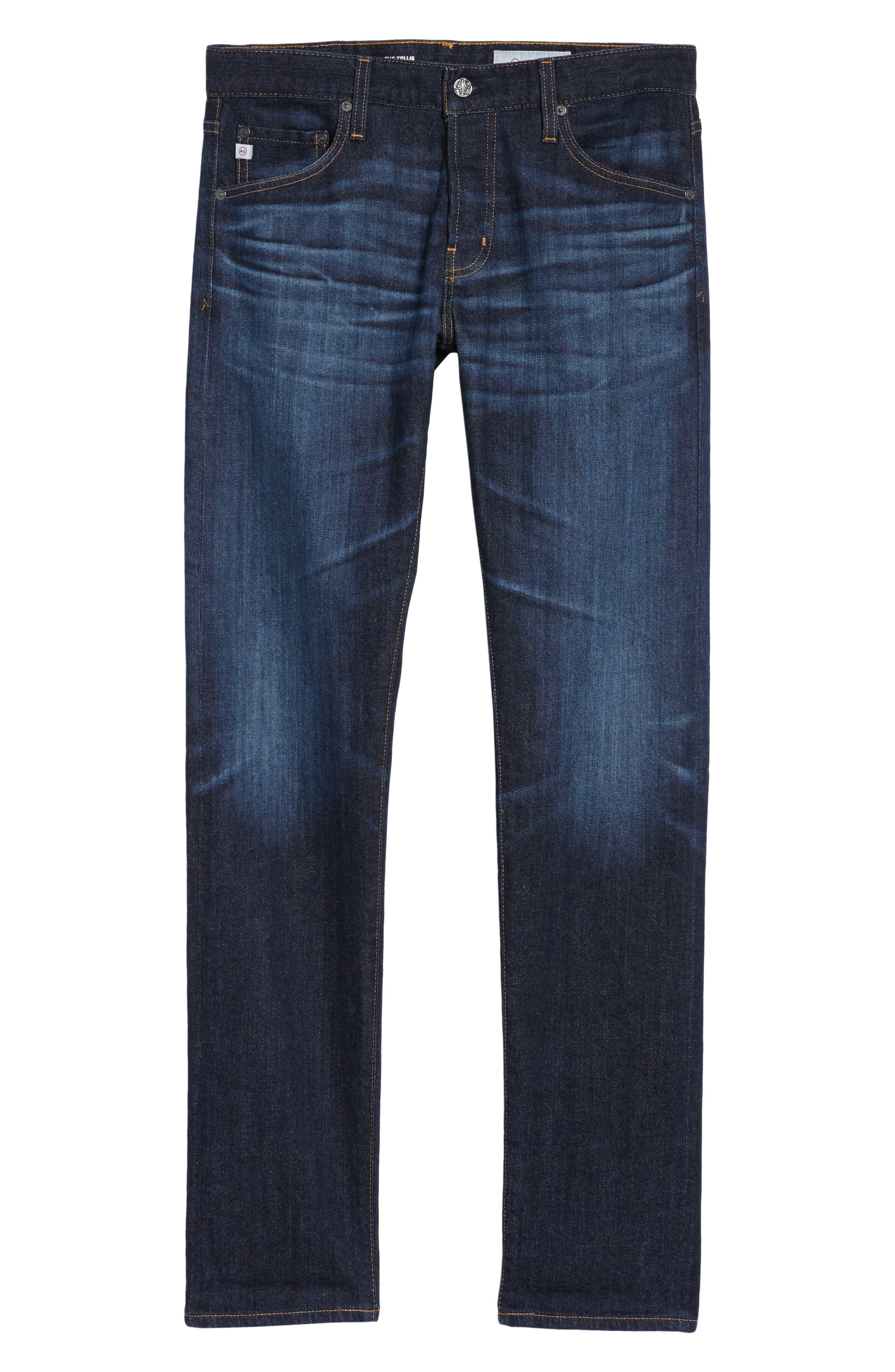 Tellis Slim Fit Jeans,                             Alternate thumbnail 6, color,