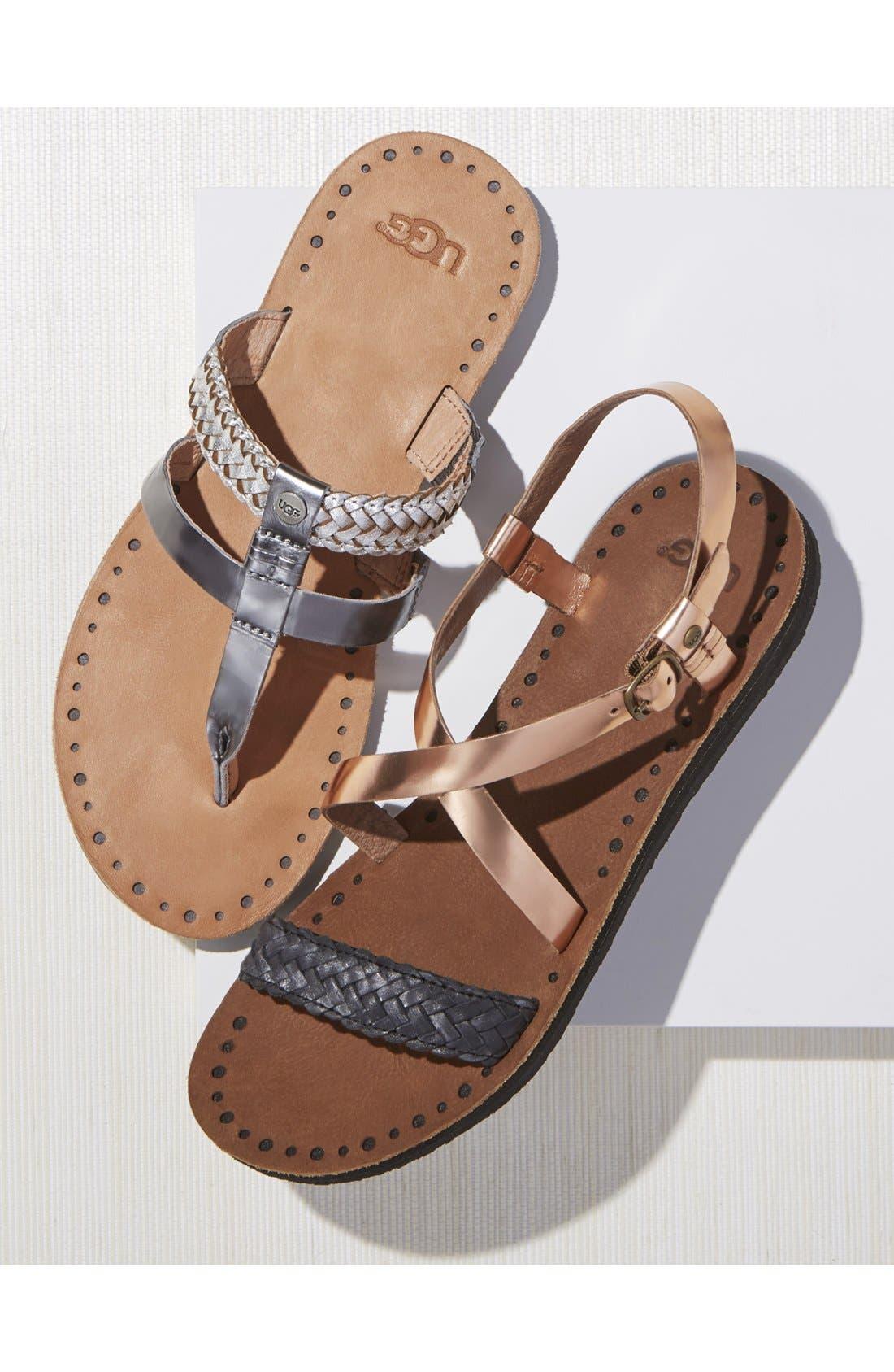 'Jordyne' Sandal,                             Main thumbnail 1, color,                             001