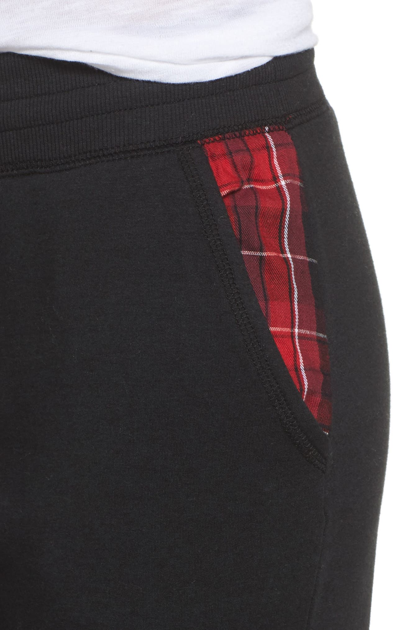 Lounge Jogger Pants,                             Alternate thumbnail 4, color,                             001