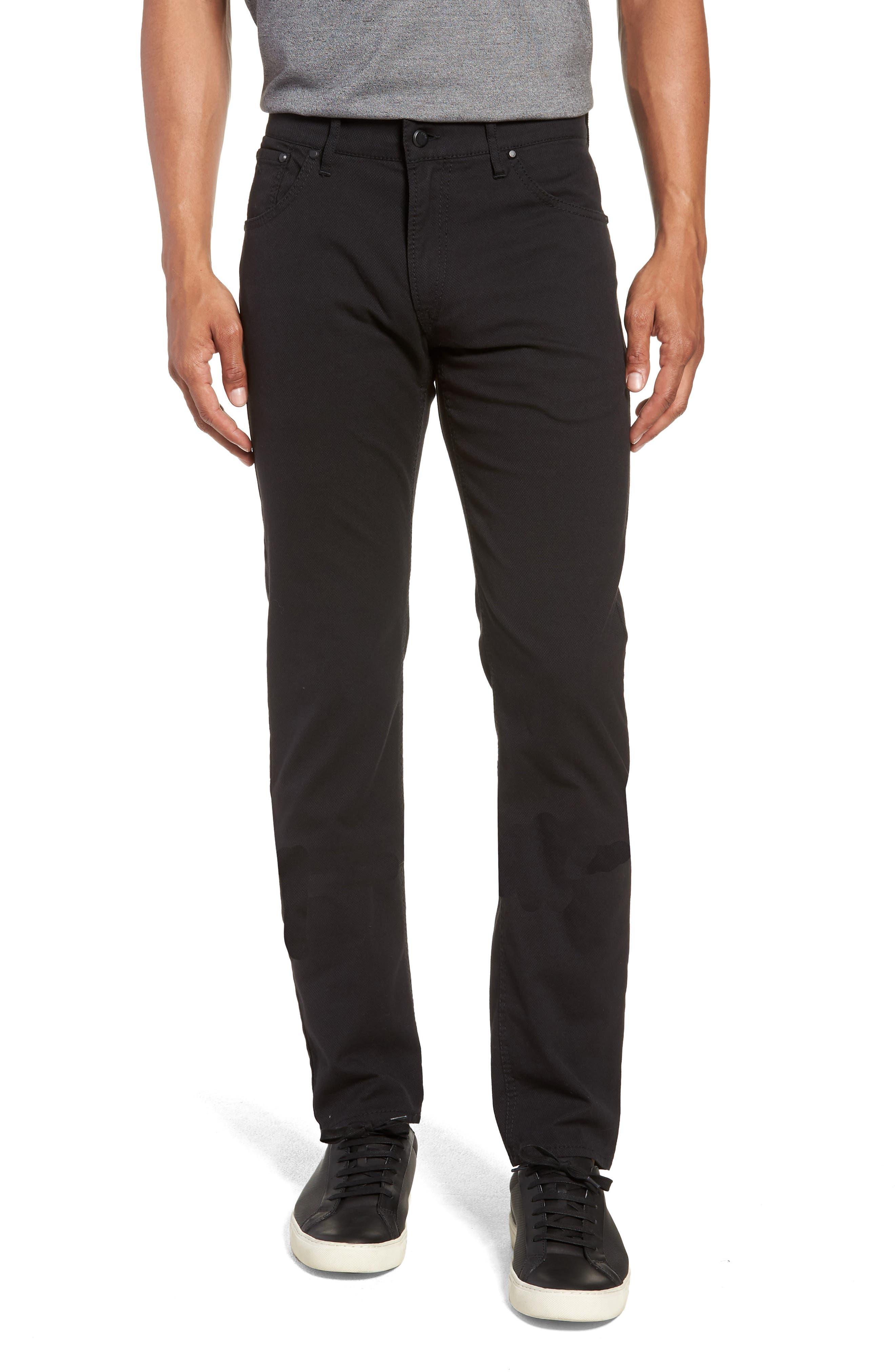 Woolook Diamond Slim Fit Pants,                             Main thumbnail 1, color,                             BLACK