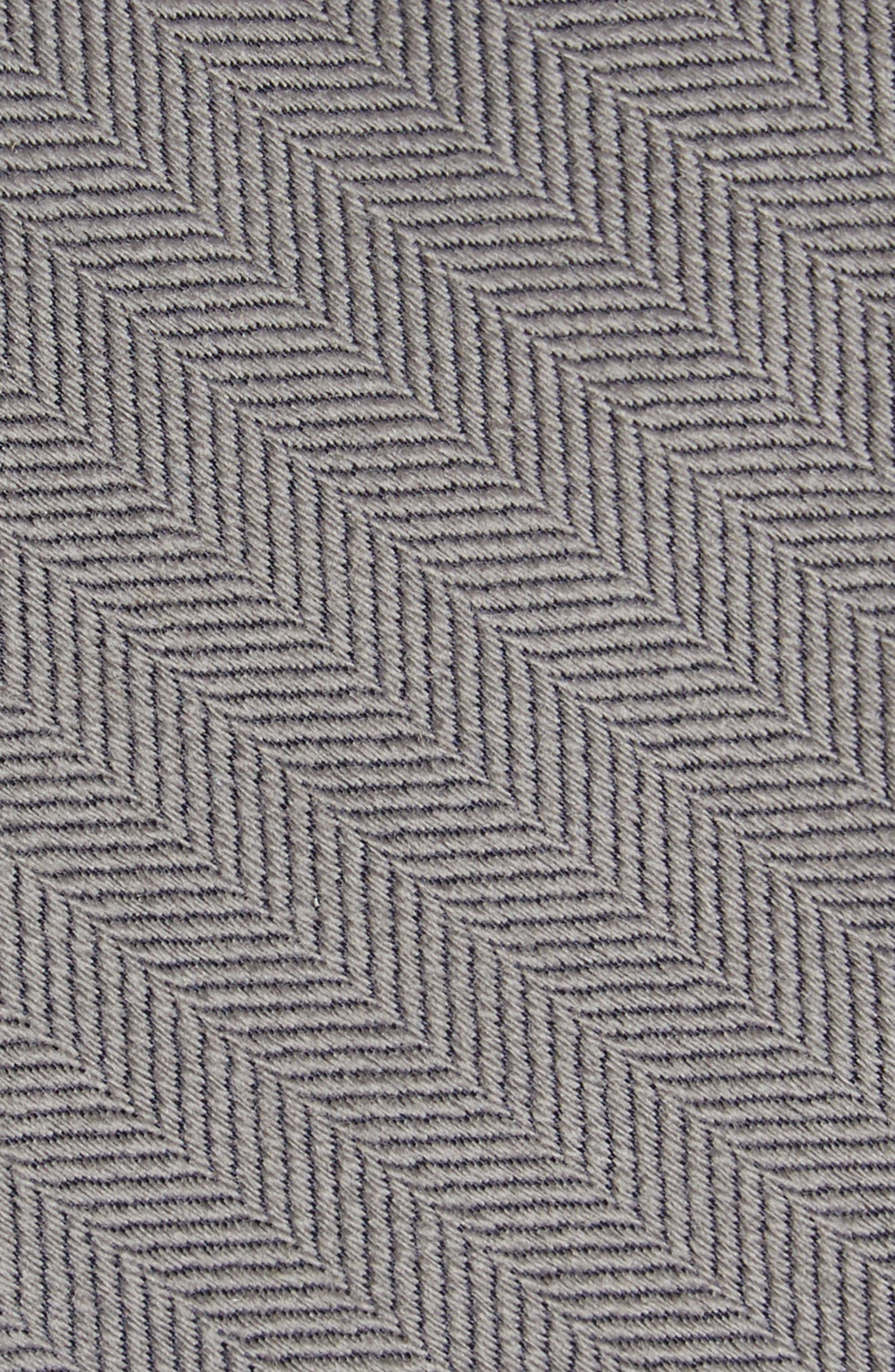 Herringbone Wool & Silk Tie,                             Alternate thumbnail 7, color,