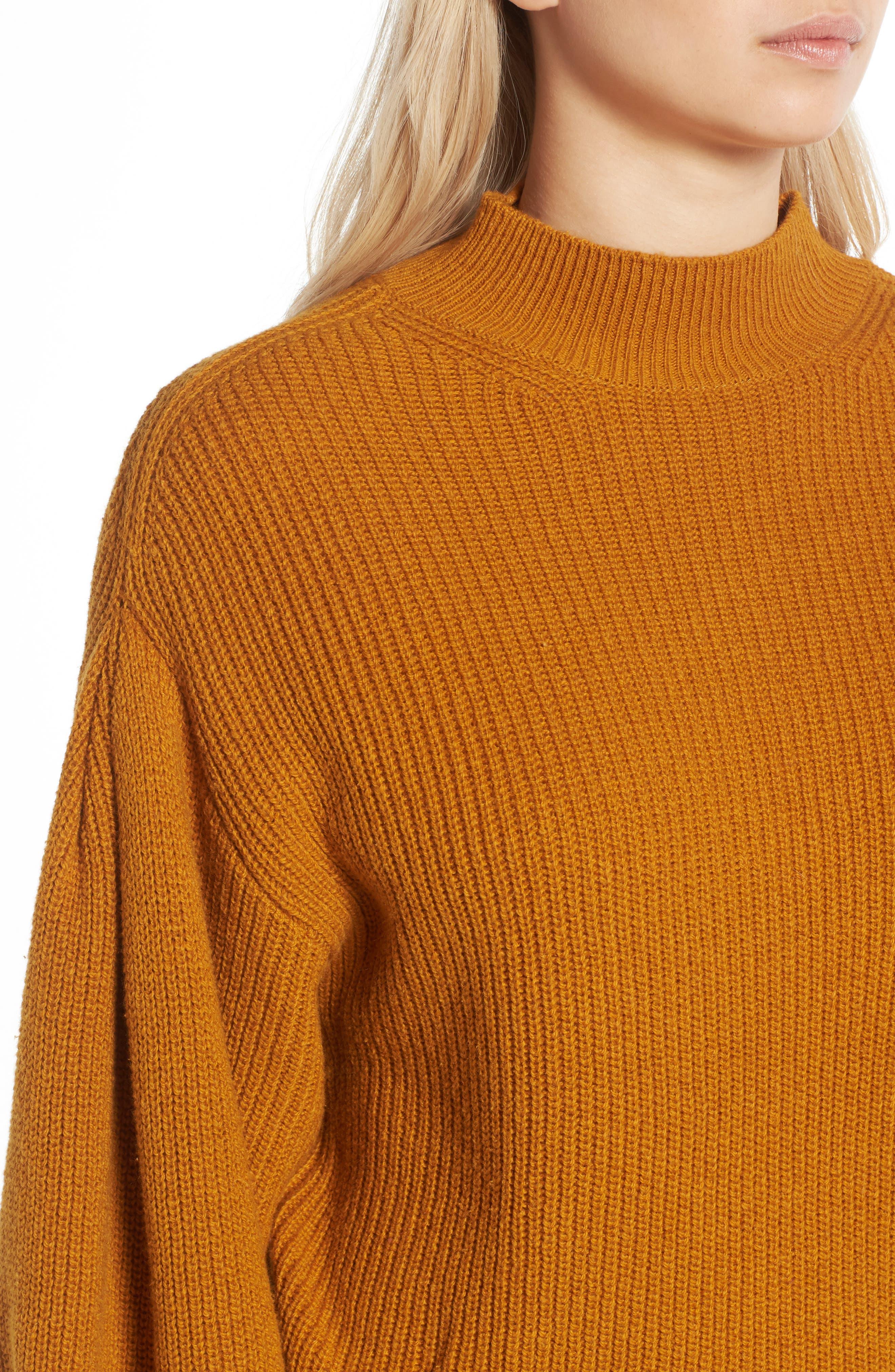 Blouson Sleeve Sweater,                             Alternate thumbnail 17, color,
