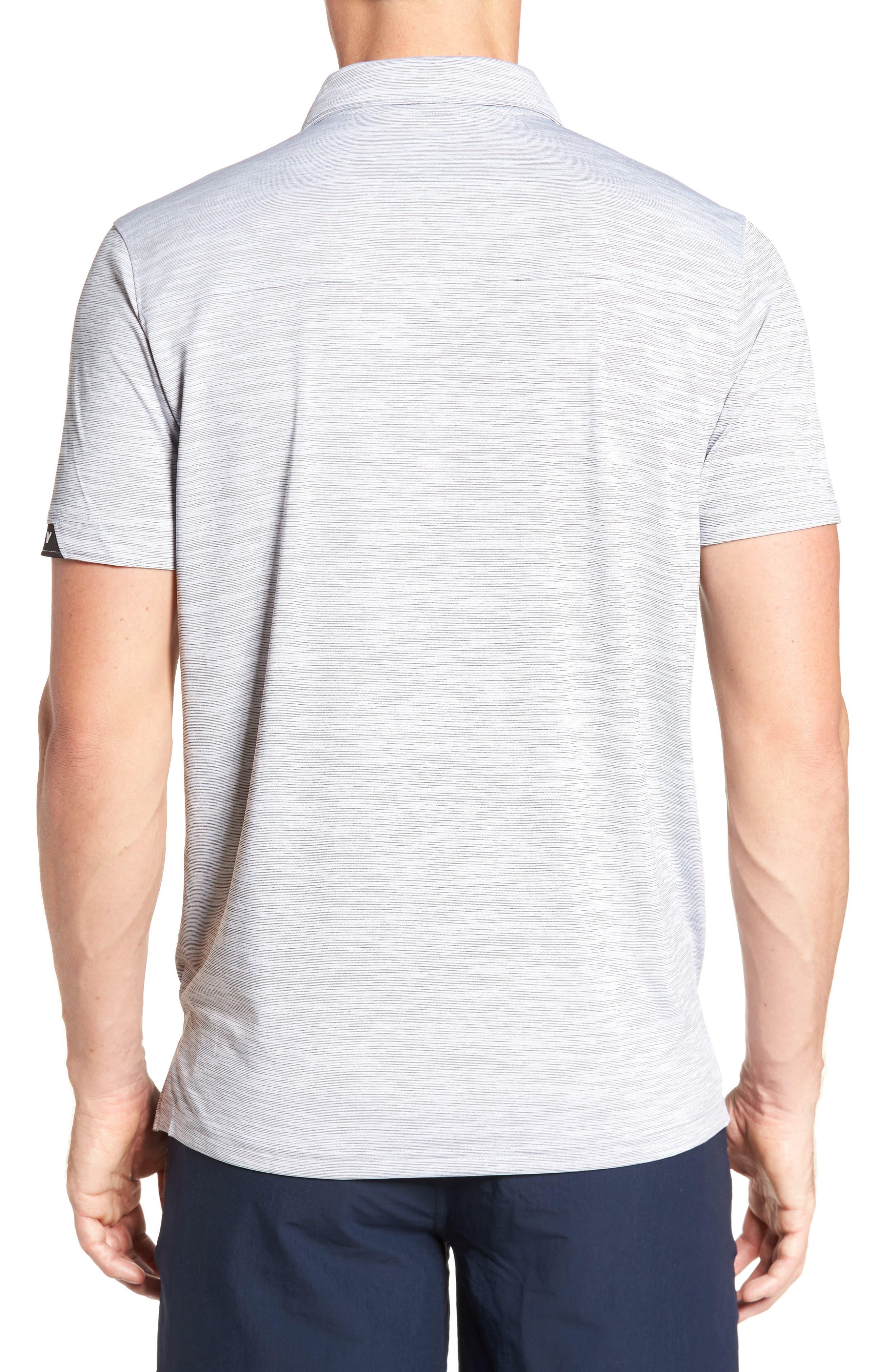 Gravity Polo Shirt,                             Alternate thumbnail 2, color,                             BLACKOUT