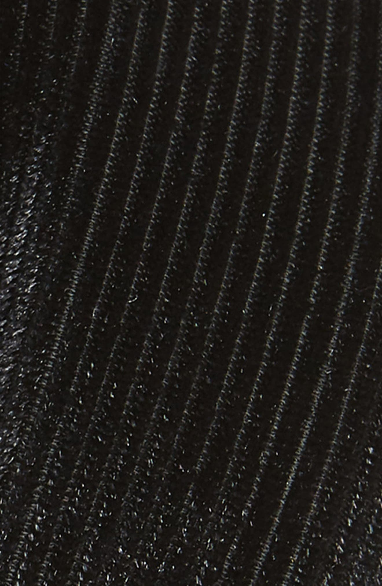 Pleated Headband,                             Alternate thumbnail 2, color,                             BLACK