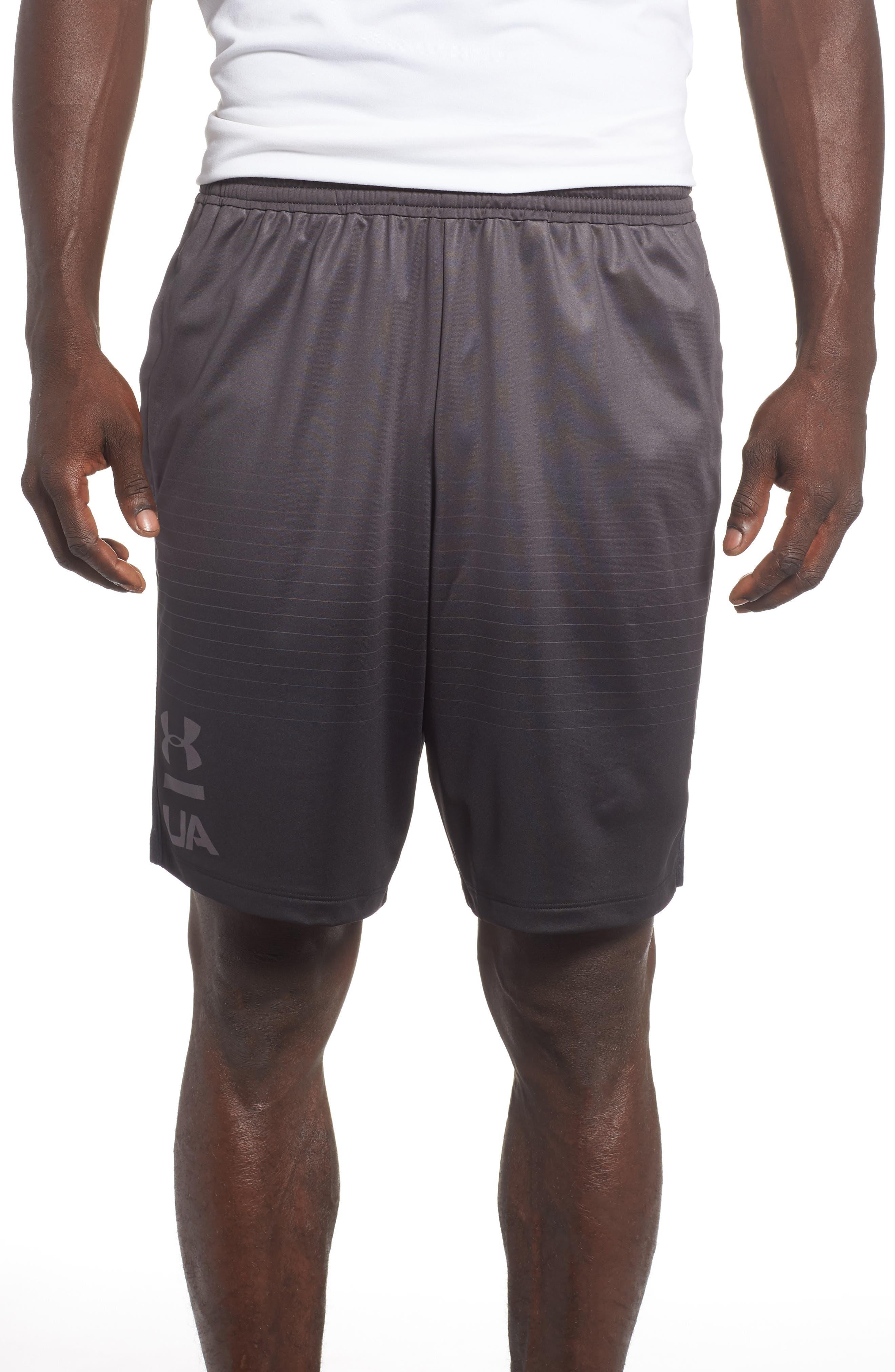 MK-1 Fade Shorts,                             Main thumbnail 1, color,                             CHARCOAL