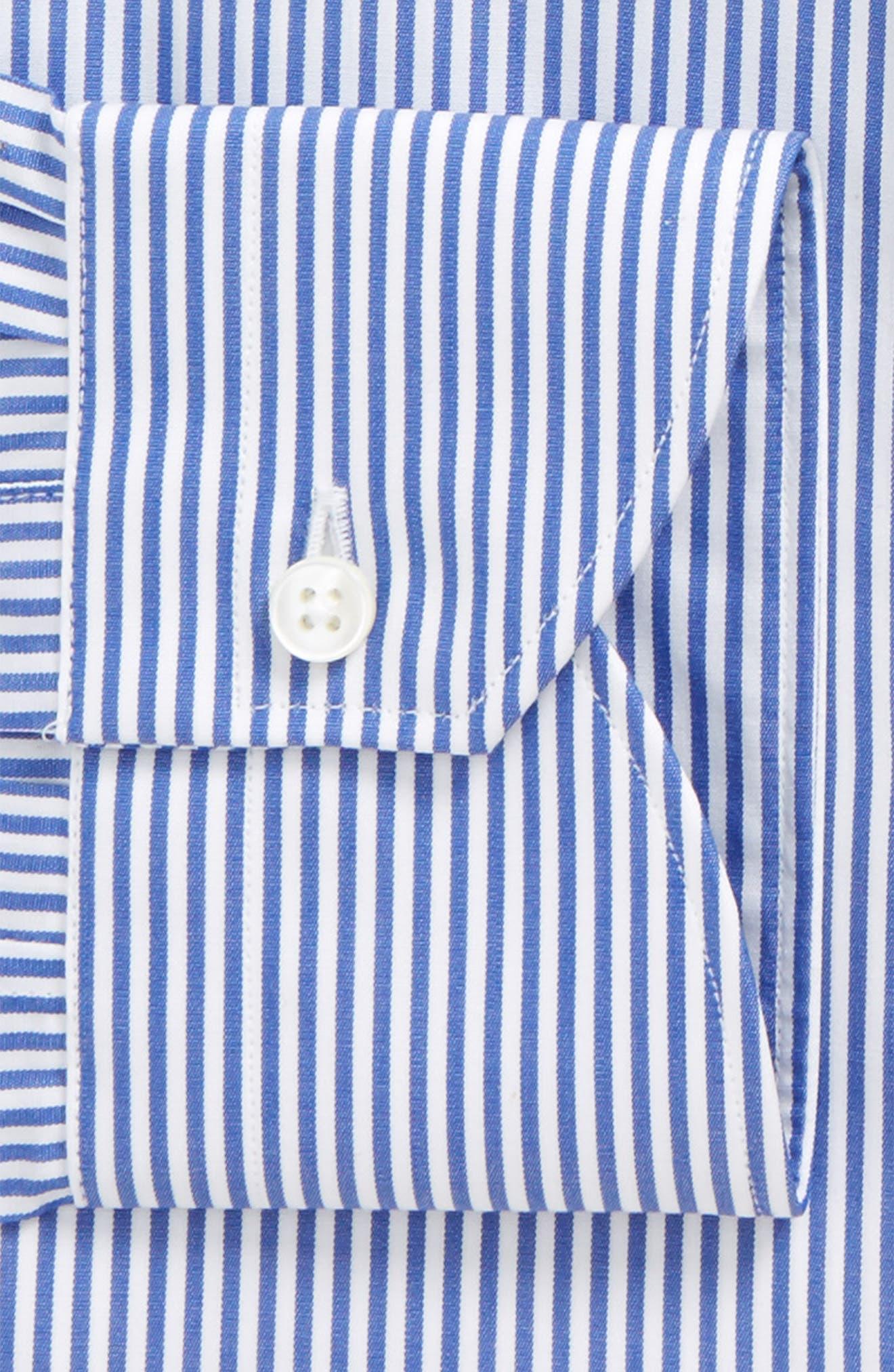 Regular Fit Stripe Dress Shirt,                             Alternate thumbnail 2, color,                             410