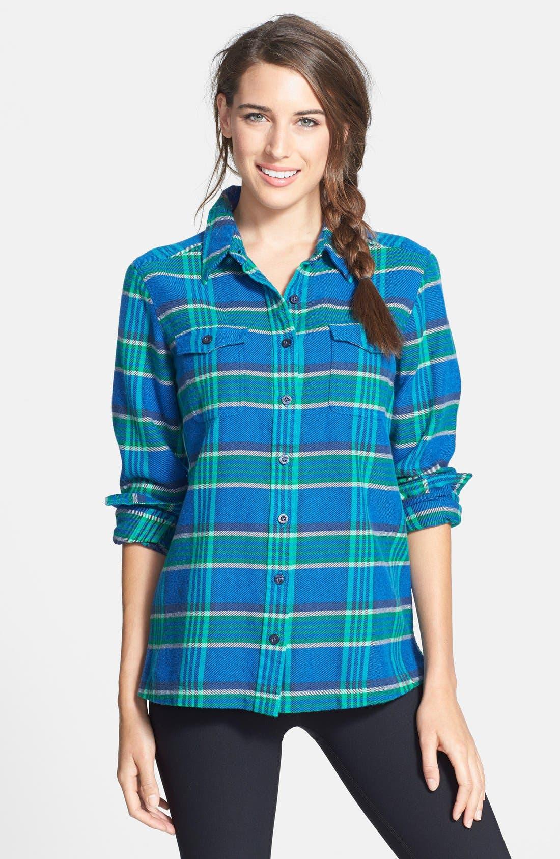 'Fjord' Flannel Shirt,                             Main thumbnail 13, color,