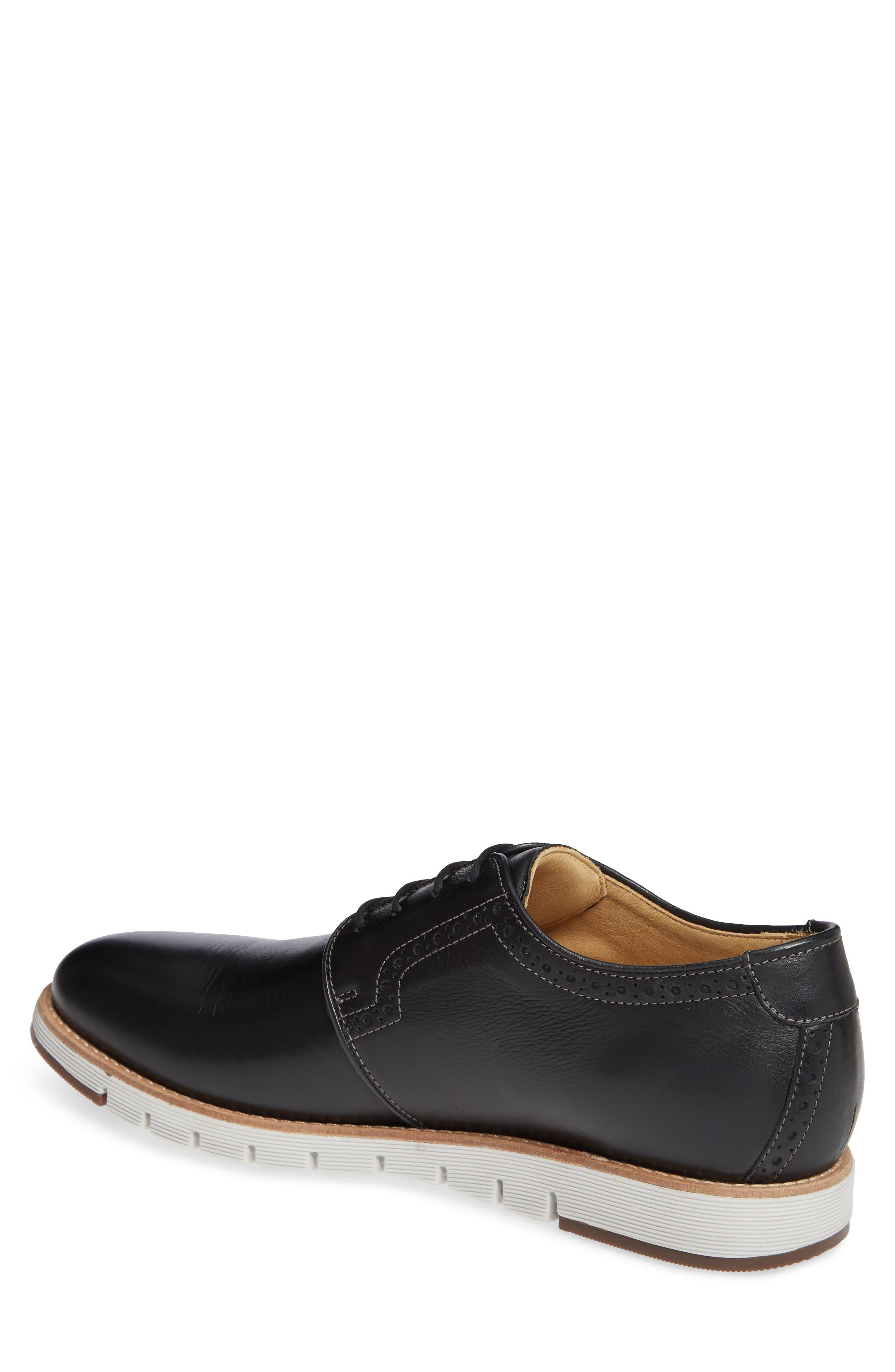 Martell Plain Toe Derby,                             Alternate thumbnail 2, color,                             BLACK LEATHER