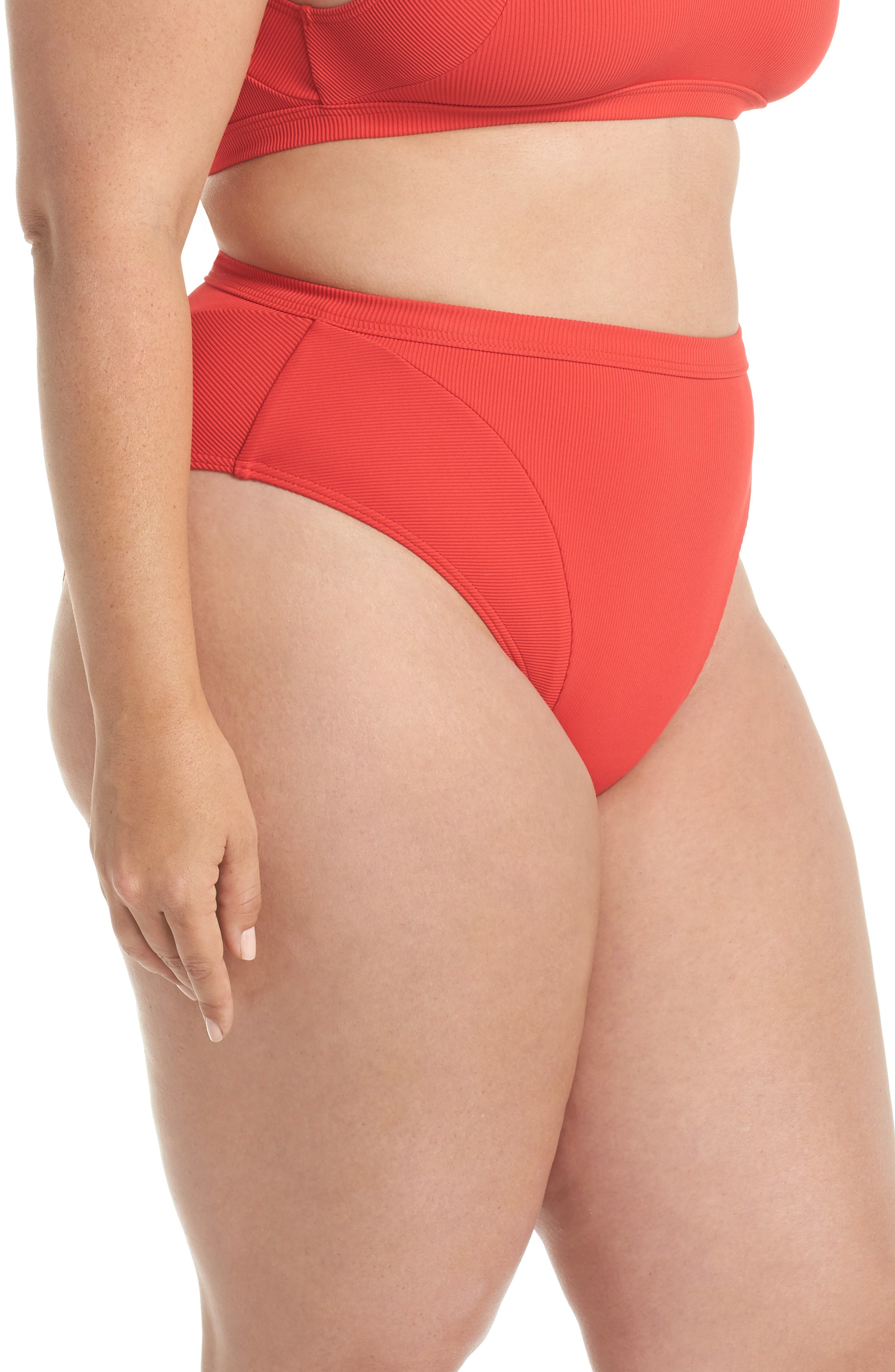 Ribbed Swim Bottoms,                             Alternate thumbnail 3, color,                             600