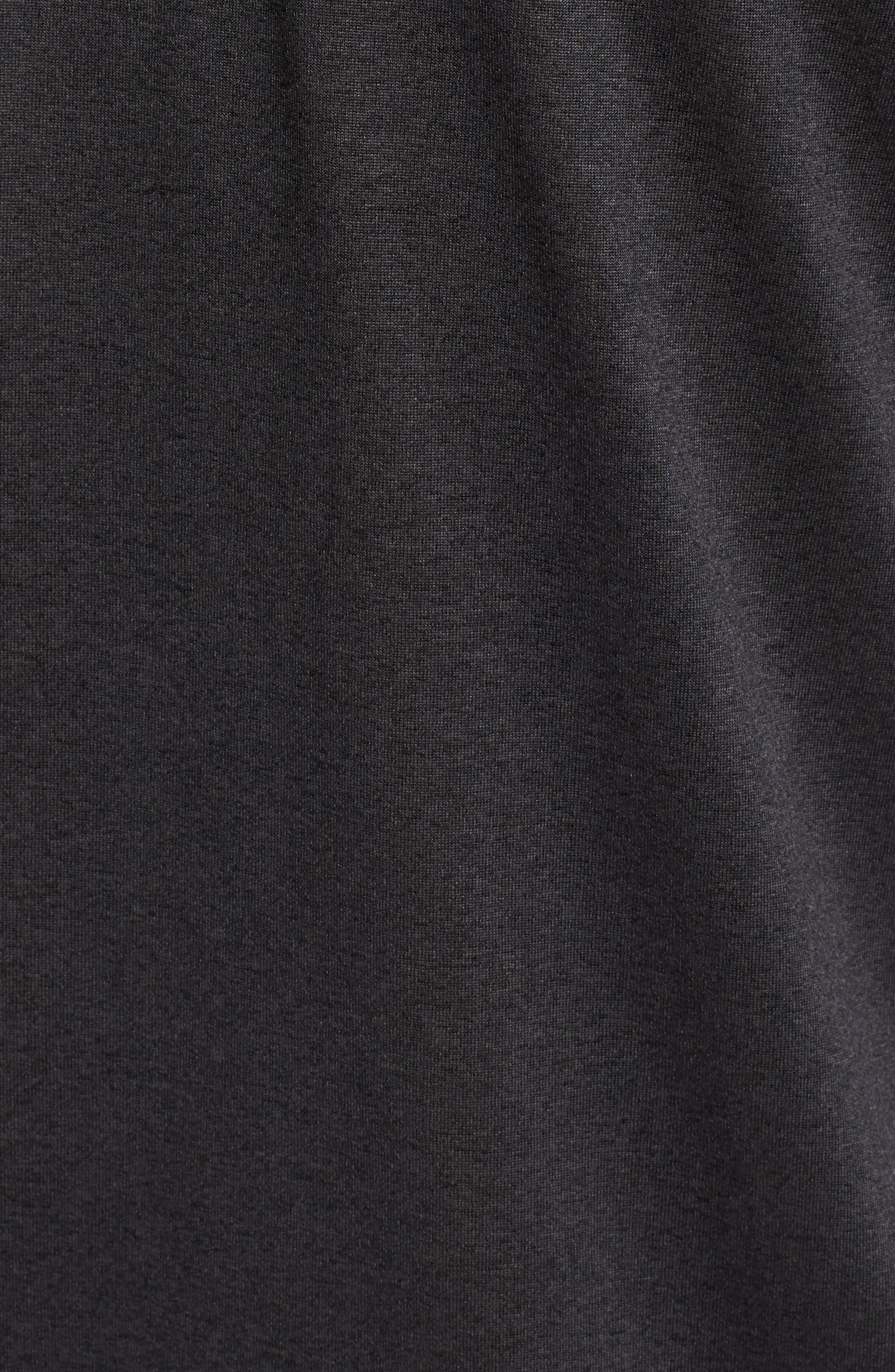 Jordanite Quarter Zip Pullover,                             Alternate thumbnail 5, color,                             001
