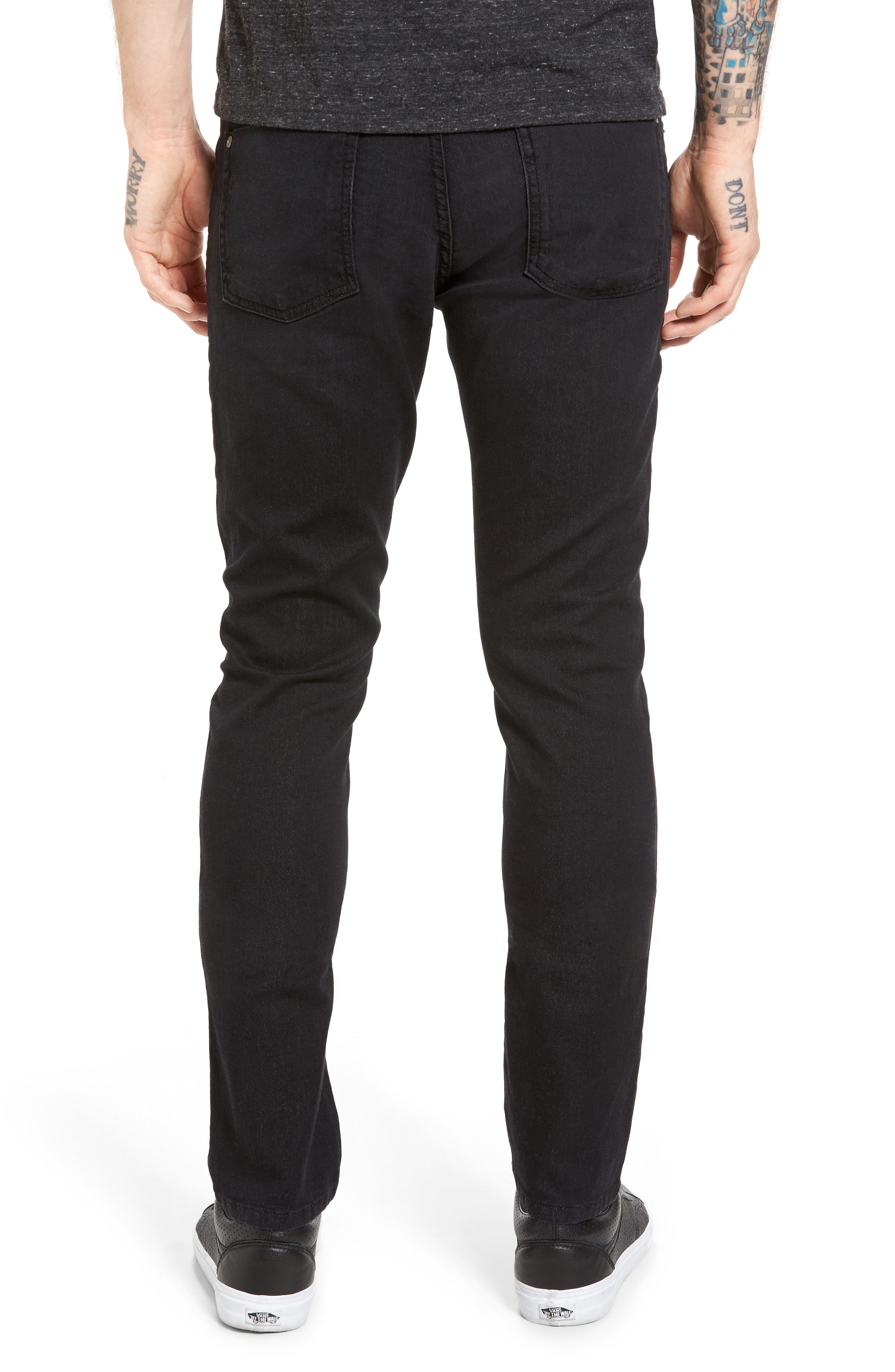 Torino Slim Fit Jeans,                             Alternate thumbnail 2, color,                             001