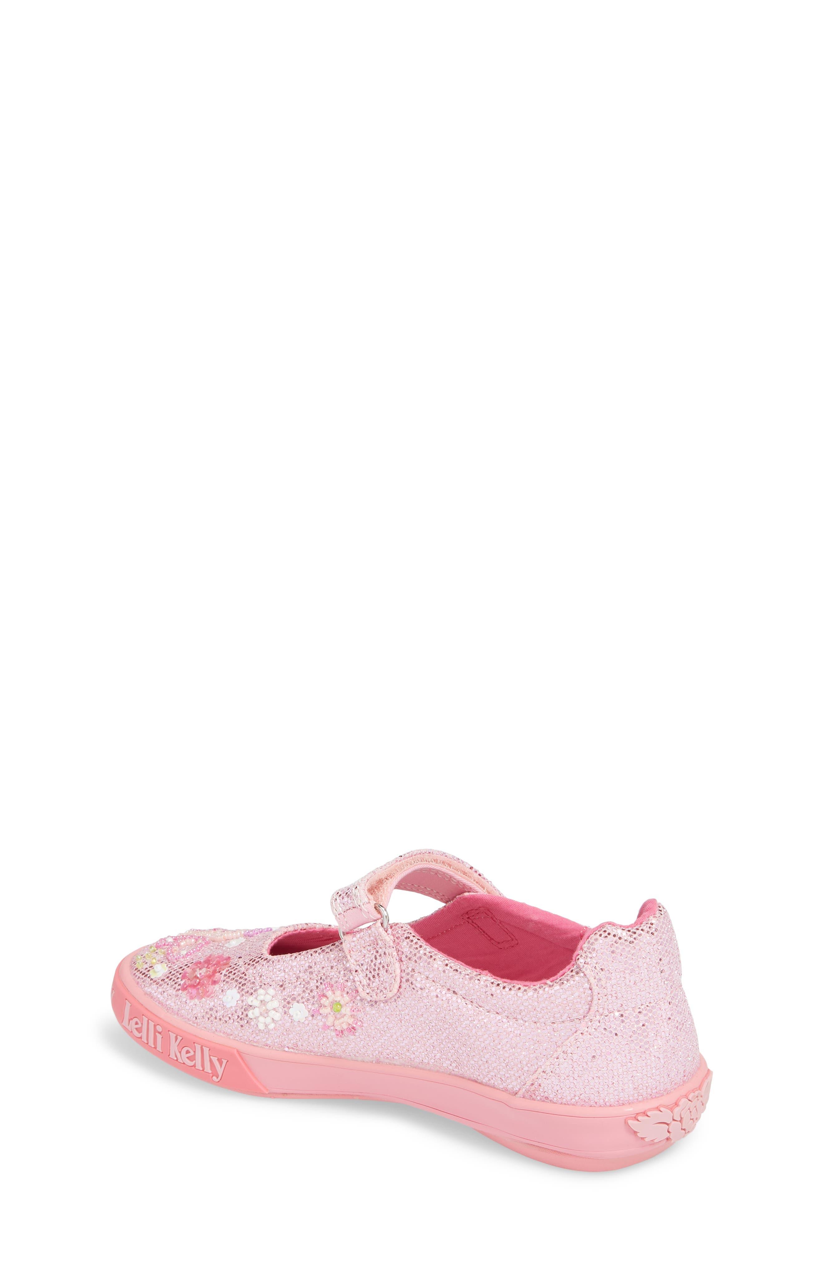 Beaded Mary Jane Sneaker,                             Alternate thumbnail 4, color,