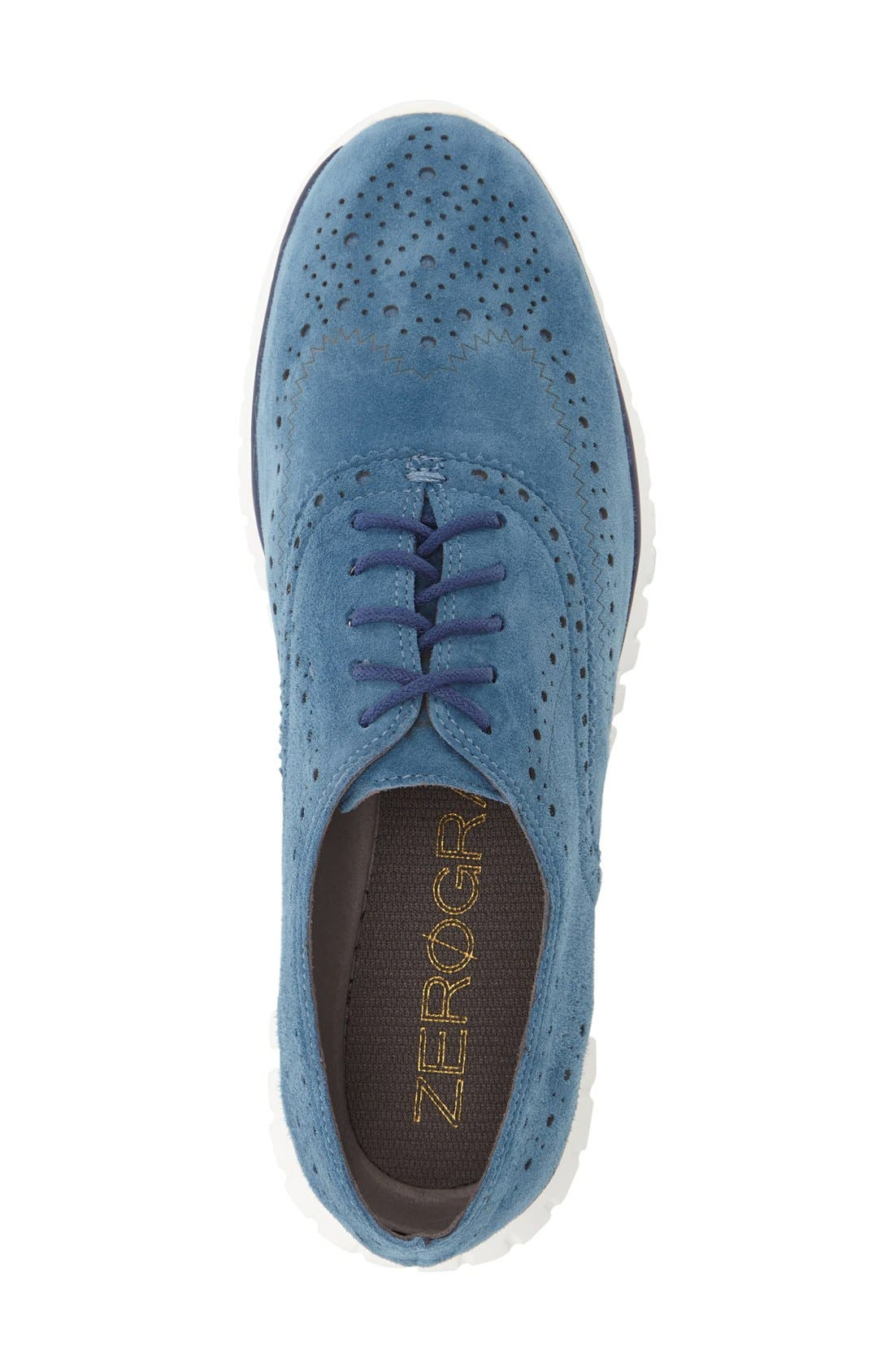 'ZeroGrand' Perforated Wingtip,                             Alternate thumbnail 81, color,