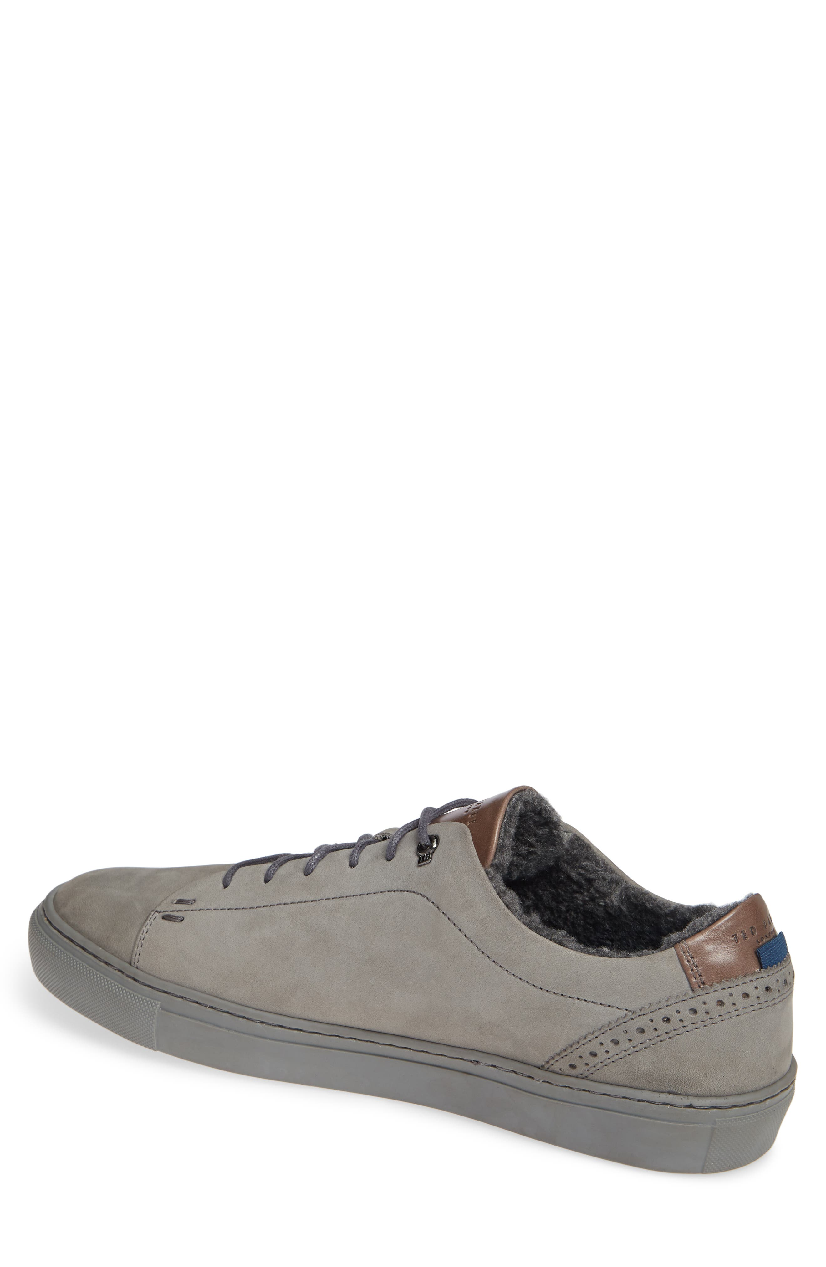 Dahvid Nubuck Sneaker,                             Alternate thumbnail 2, color,                             GREY NUBUCK
