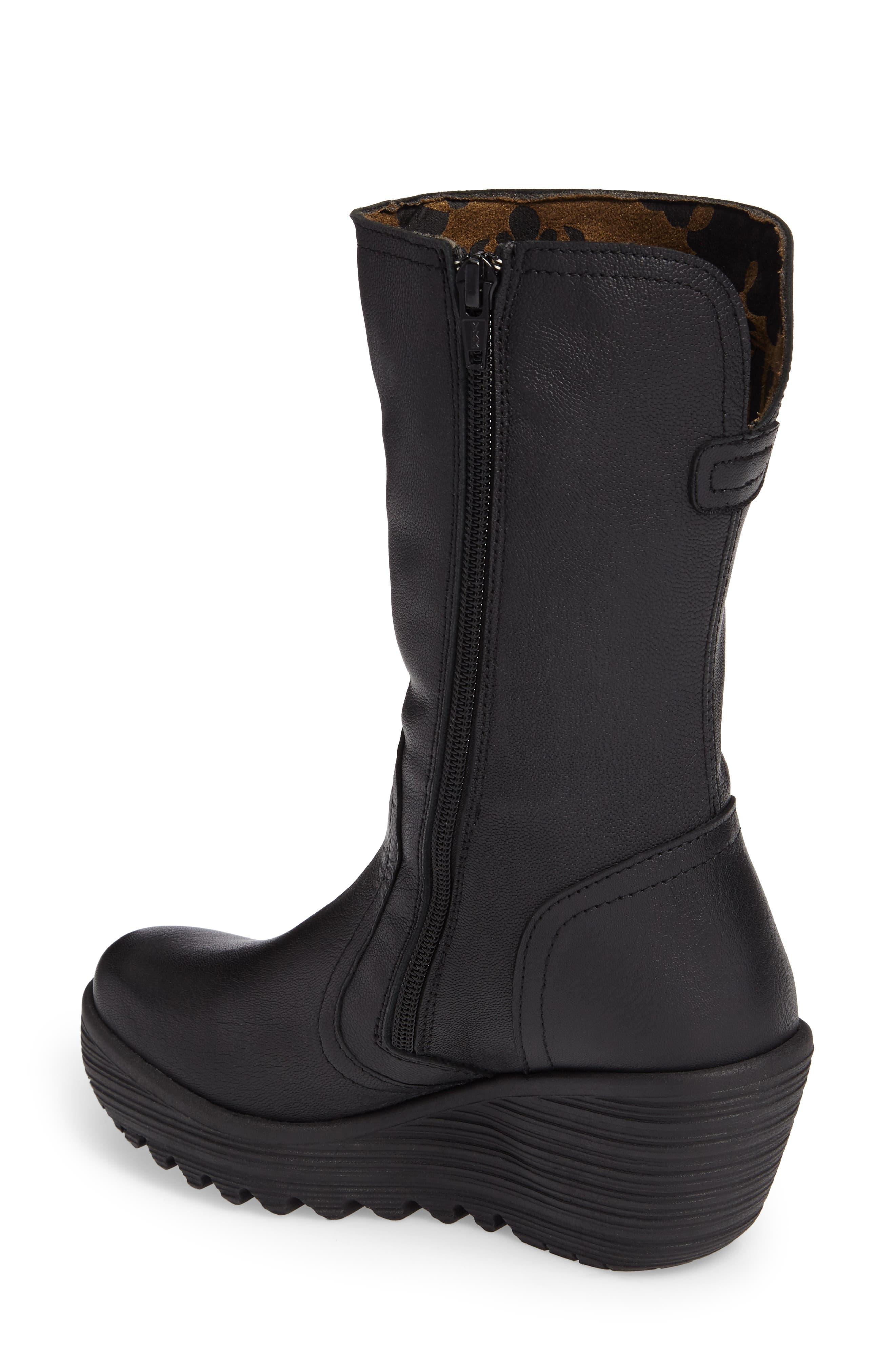 Yups Waterproof Gore-Tex<sup>®</sup> Wedge Boot,                             Alternate thumbnail 2, color,                             001