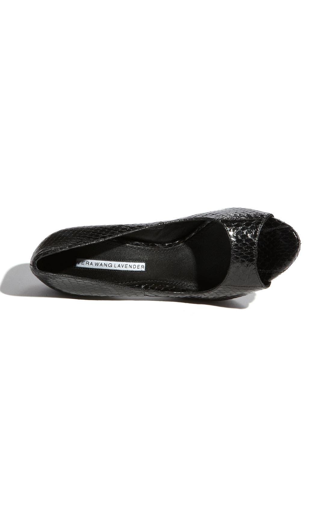 Footwear 'Selima' Peep Toe Pump,                             Alternate thumbnail 13, color,