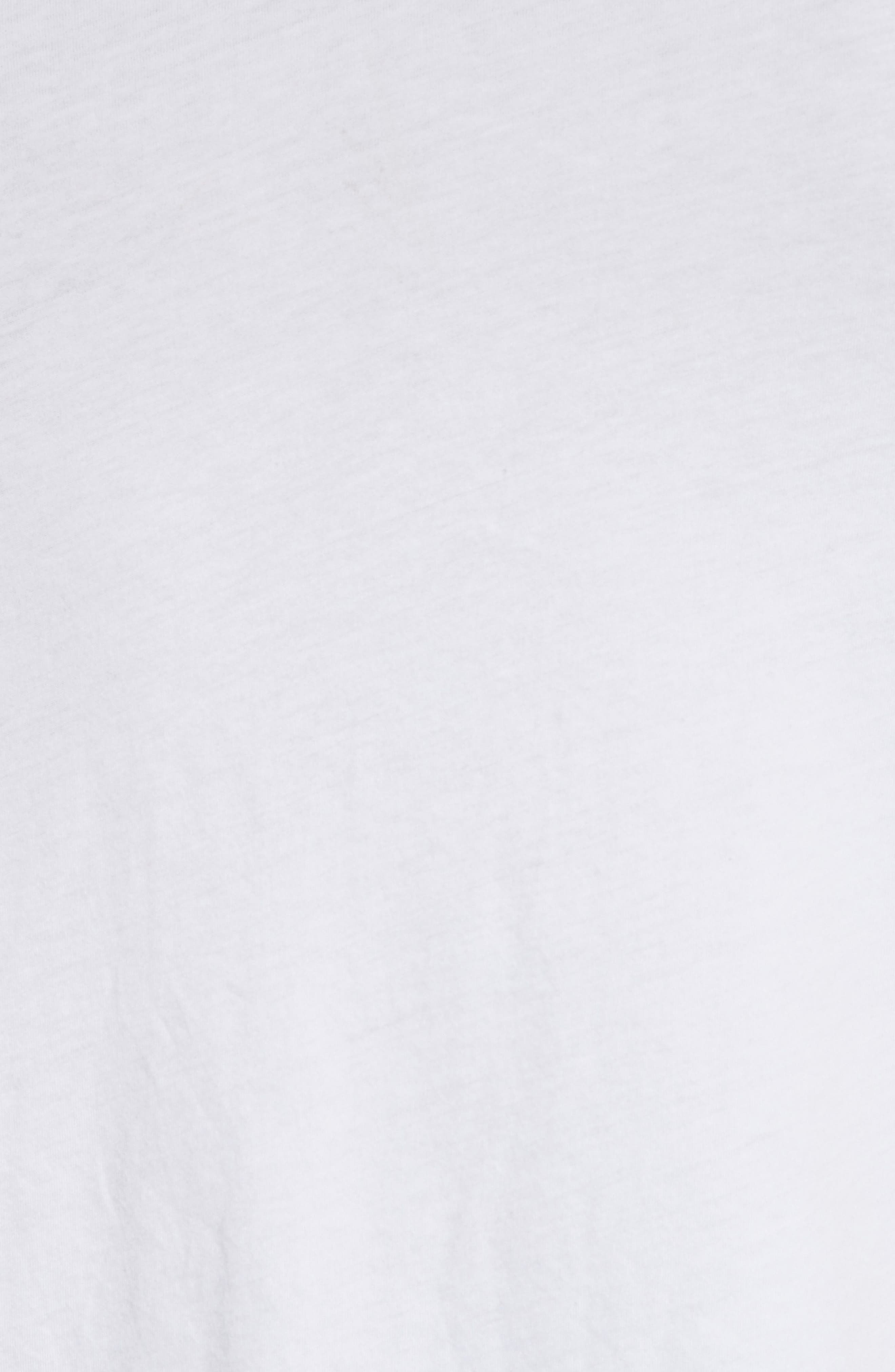 Throwley Logo T-Shirt,                             Alternate thumbnail 5, color,                             WHITE
