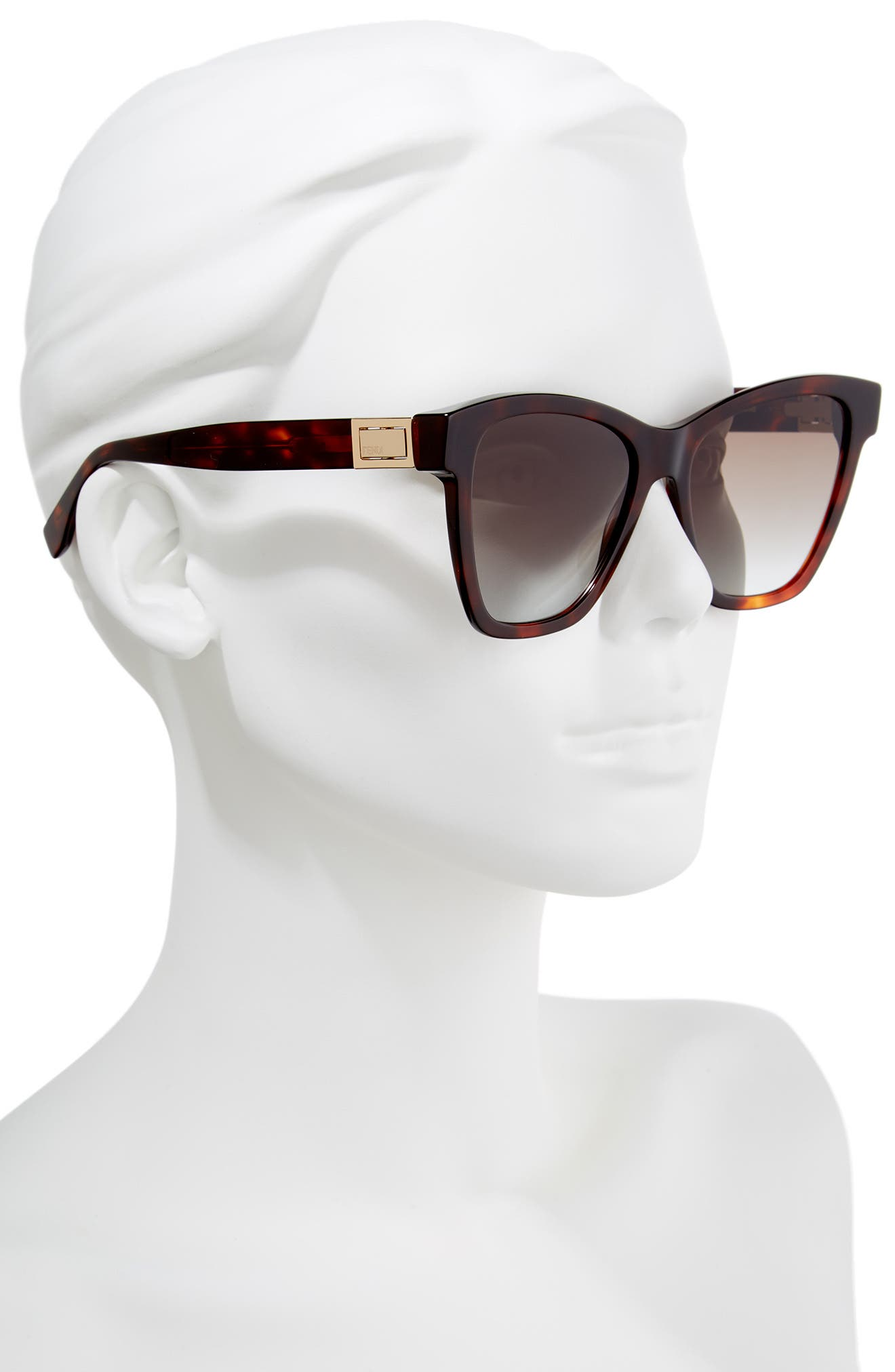 Basic 55mm Sunglasses,                             Alternate thumbnail 4, color,