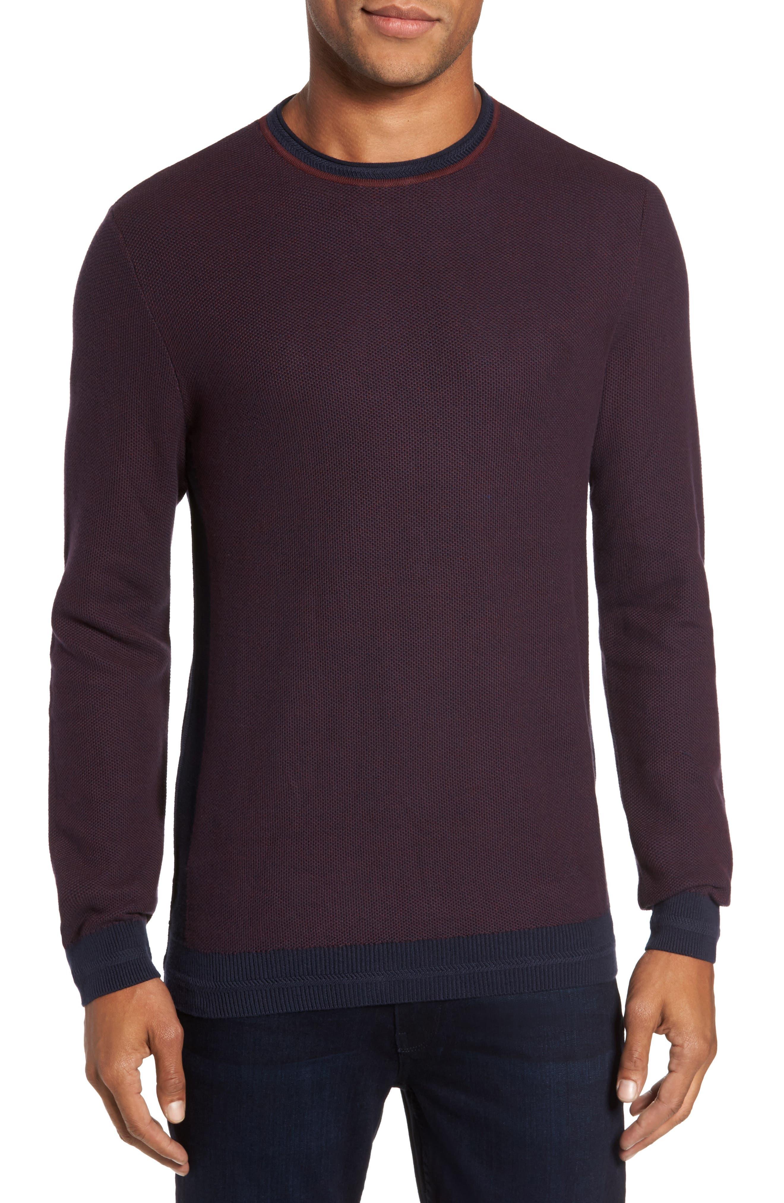 Space Dye Slim Fit Sweater,                             Main thumbnail 3, color,
