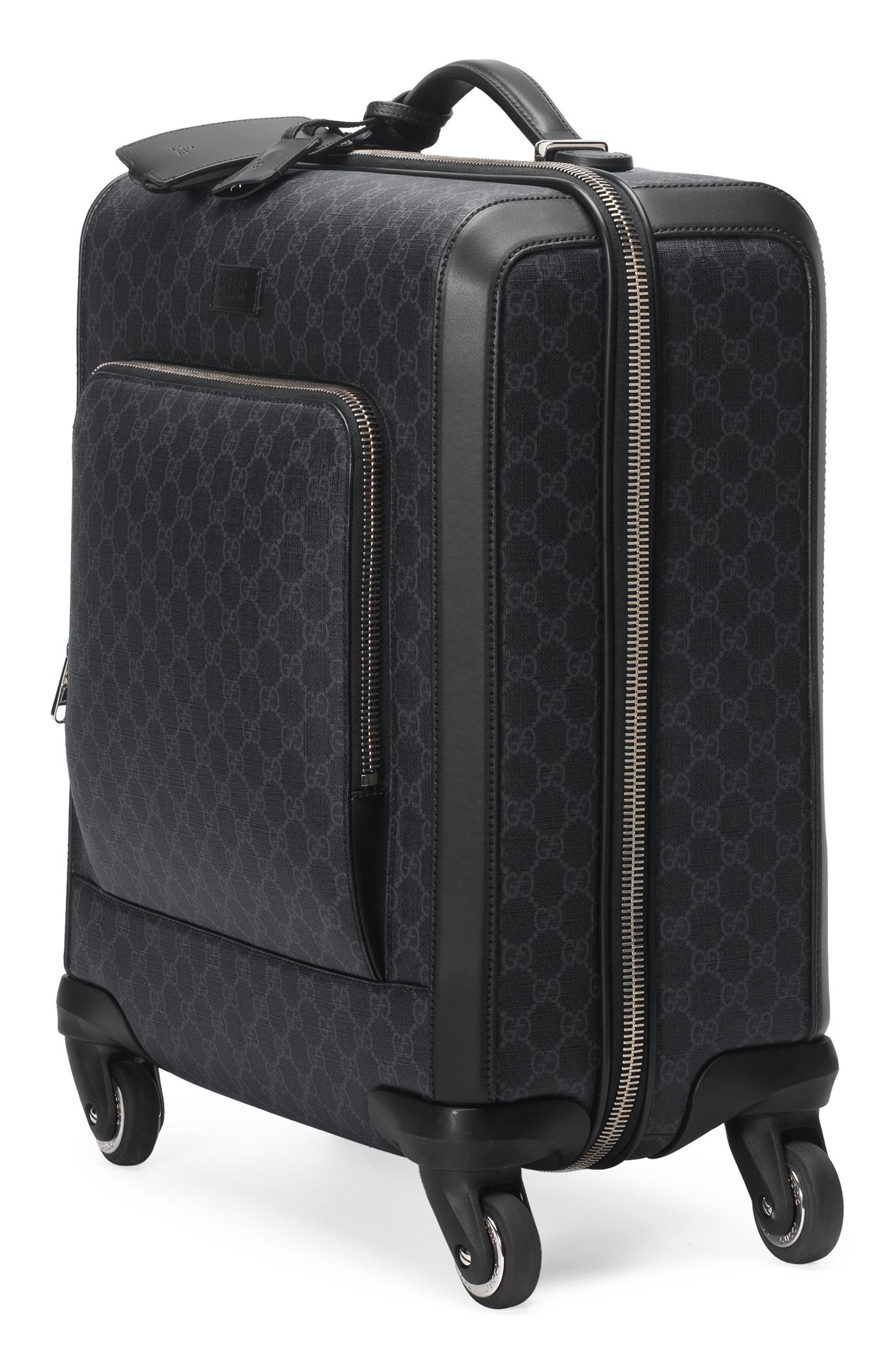 Gran Turismo 19-Inch Carry-On,                             Alternate thumbnail 3, color,                             BLACK