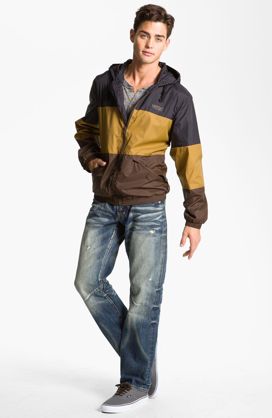 'Magnus' Windbreaker Jacket,                             Alternate thumbnail 2, color,                             001