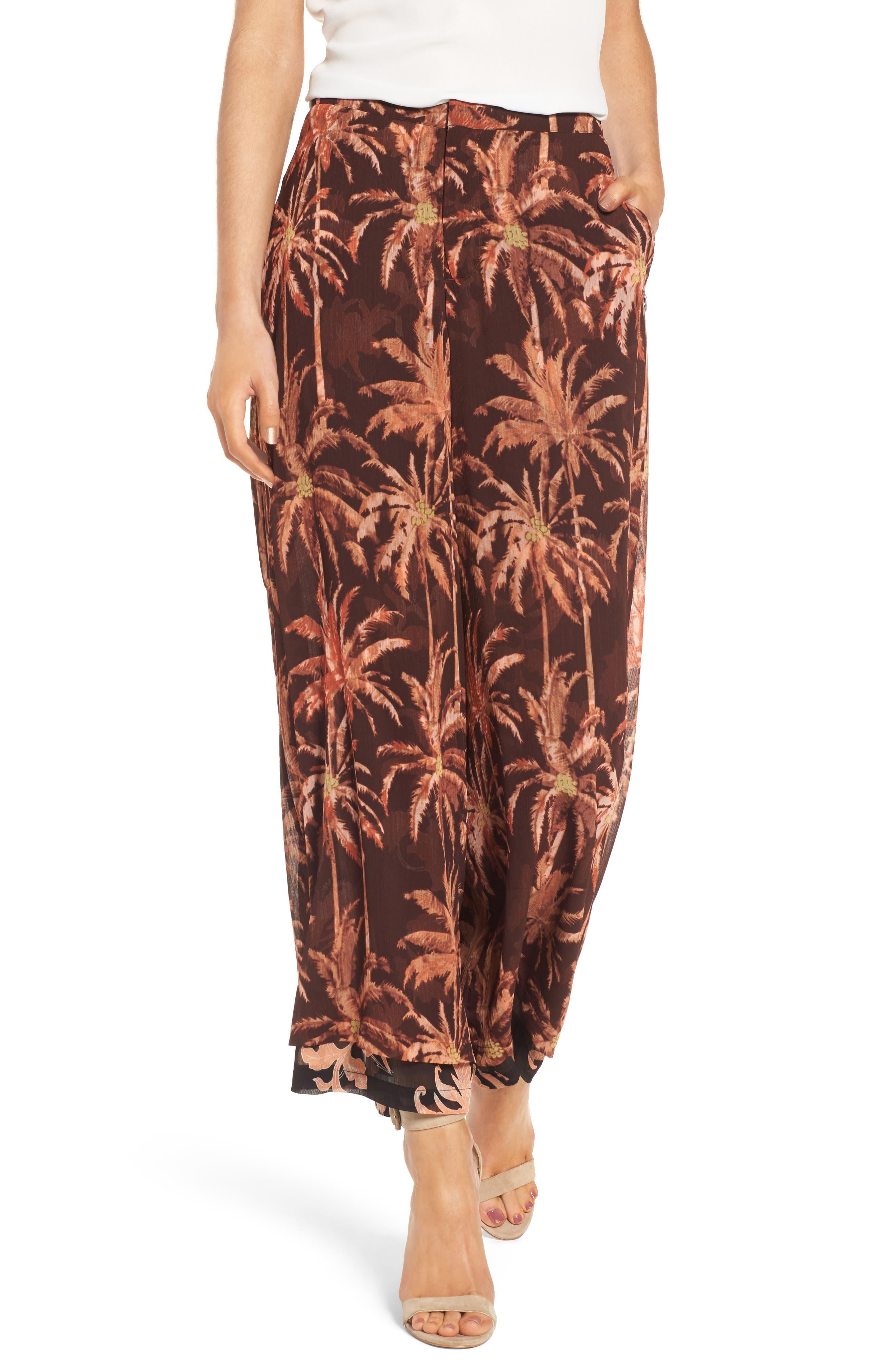 Wide Leg Pants,                         Main,                         color, 950