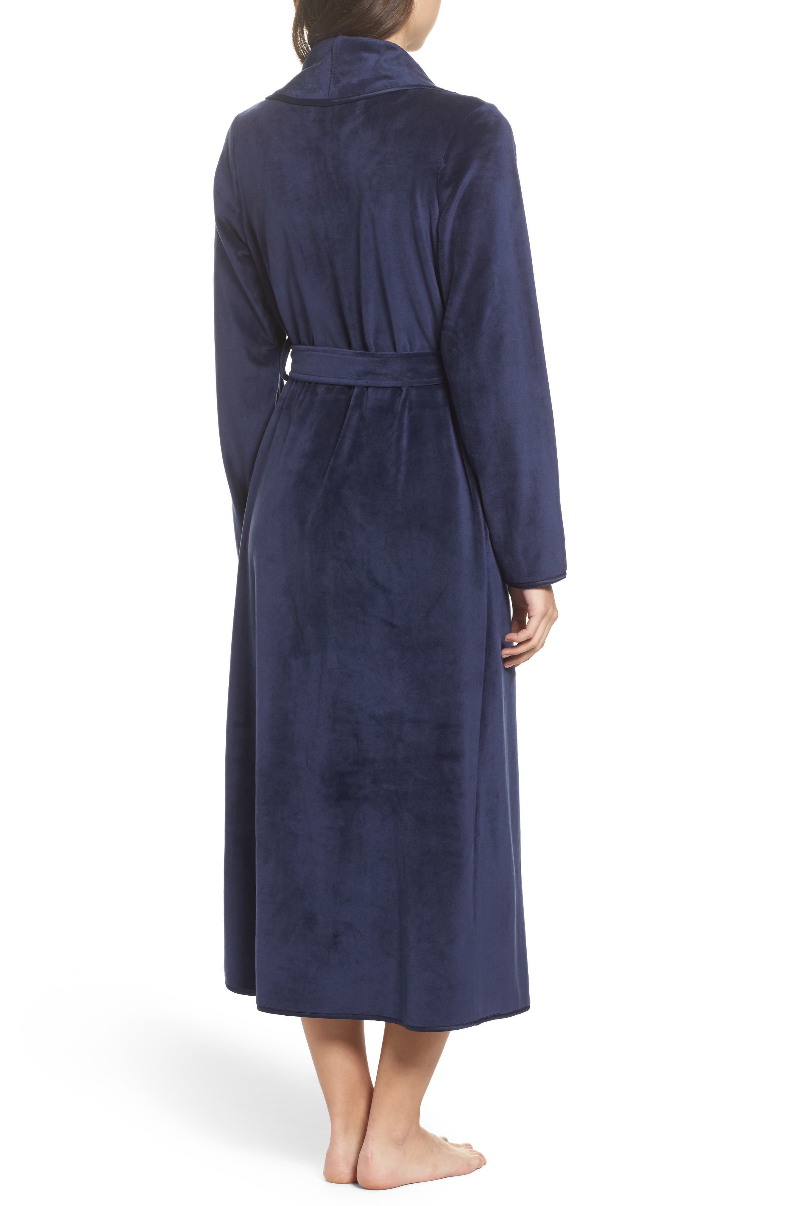 Luxe Shawl Robe,                             Alternate thumbnail 5, color,
