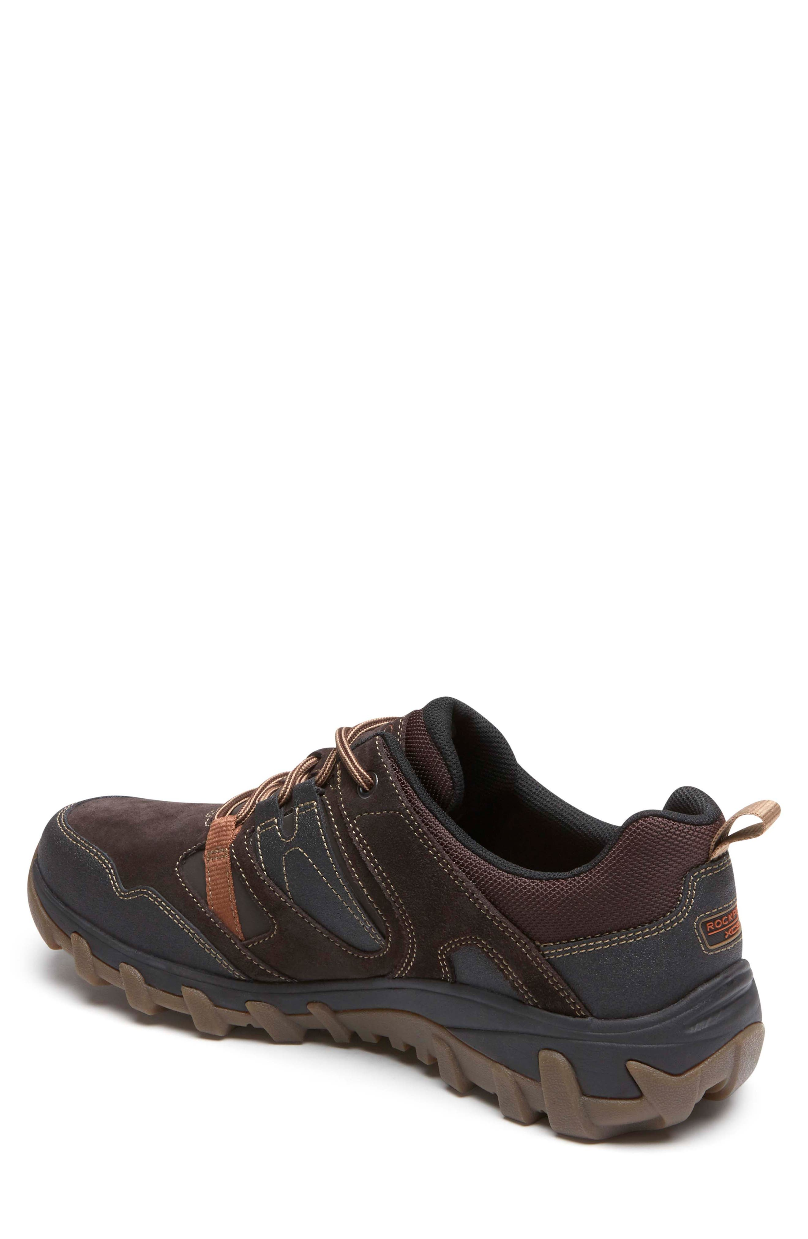 Cold Springs Plus Lace-Up Sneaker,                             Alternate thumbnail 2, color,                             DARK BROWN LEATHER