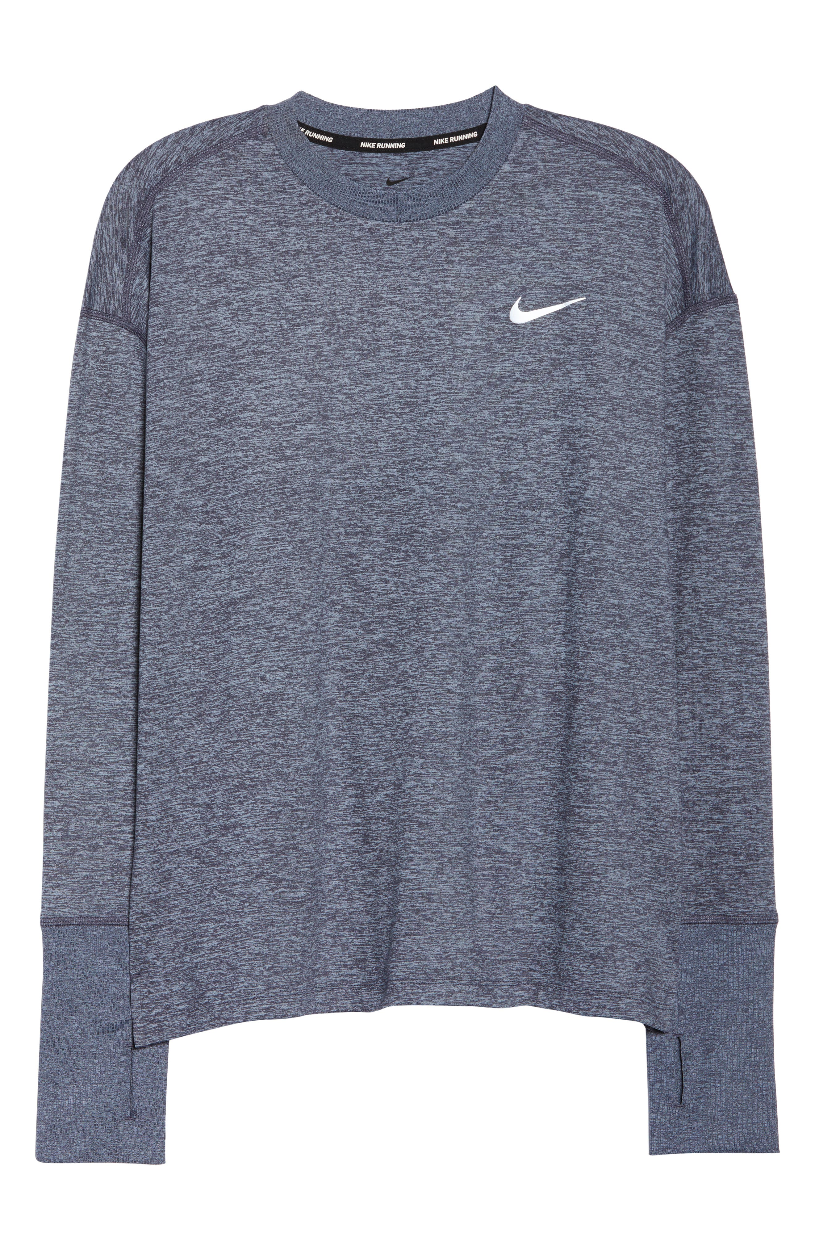 Dry Element Crewneck Top,                             Alternate thumbnail 7, color,                             081