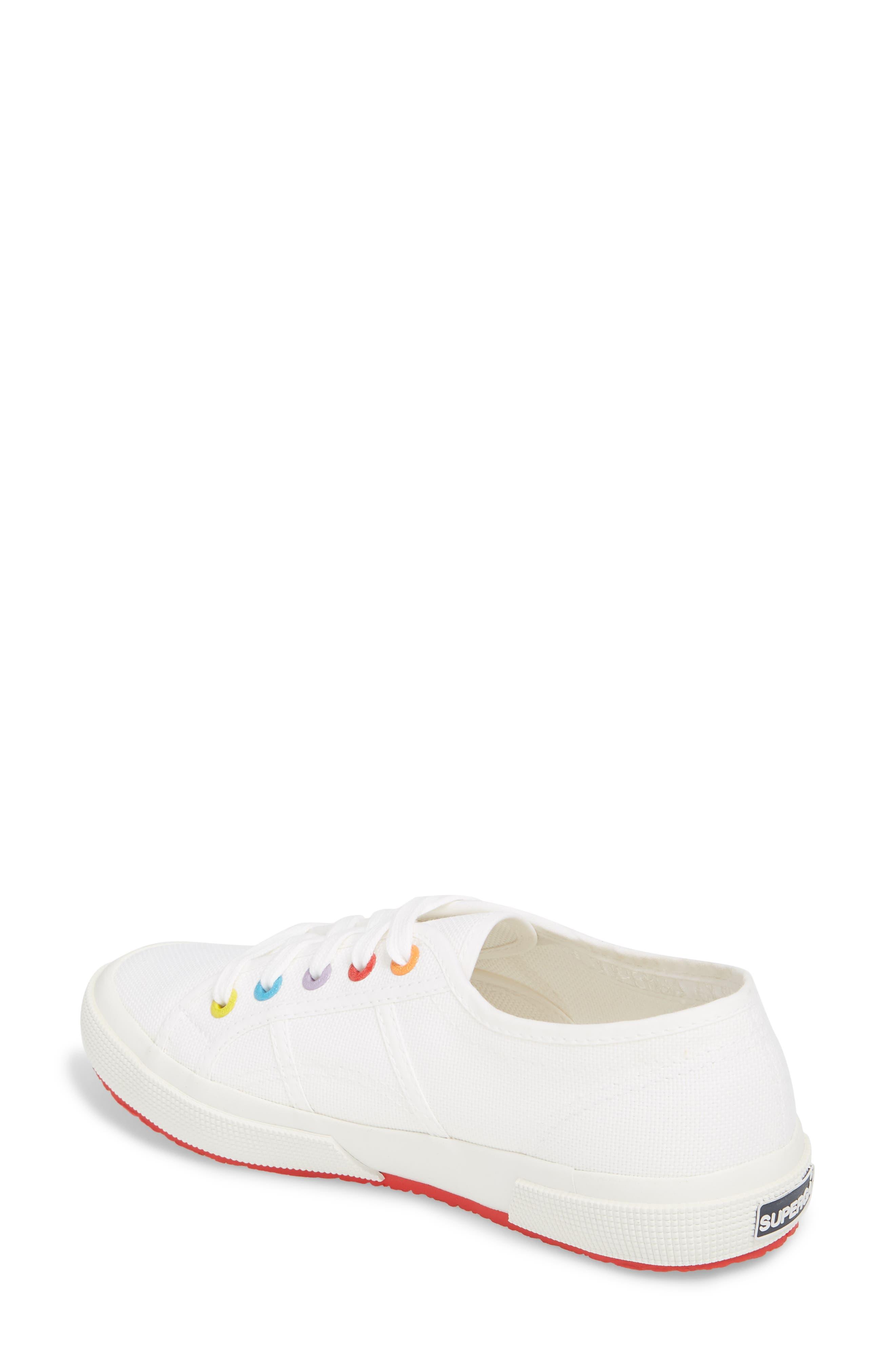 2750 Rainbow Sneaker,                             Alternate thumbnail 4, color,