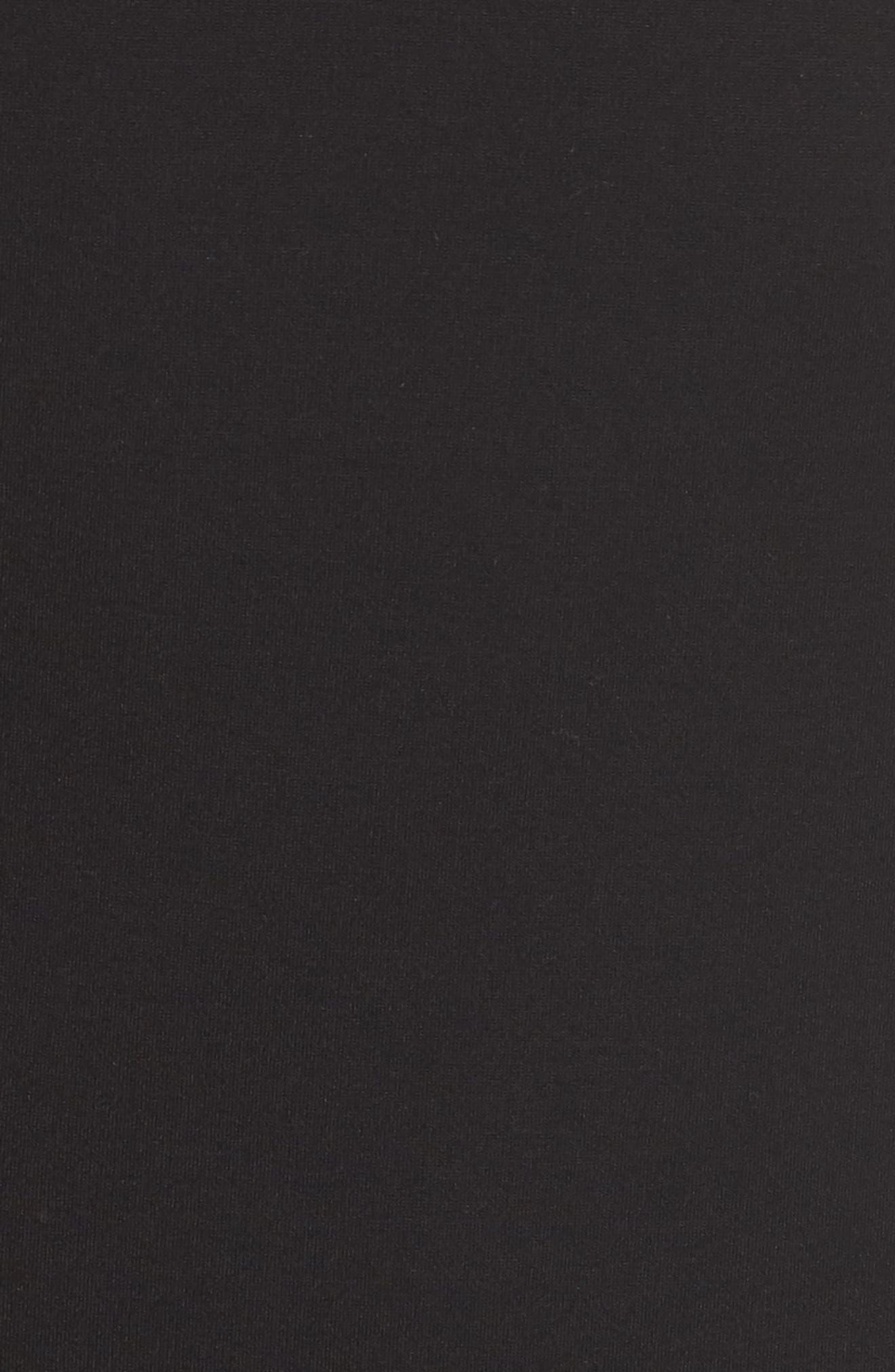 KOBI HALPERIN,                             Tavi Cutout Neckline Dress,                             Alternate thumbnail 5, color,                             001