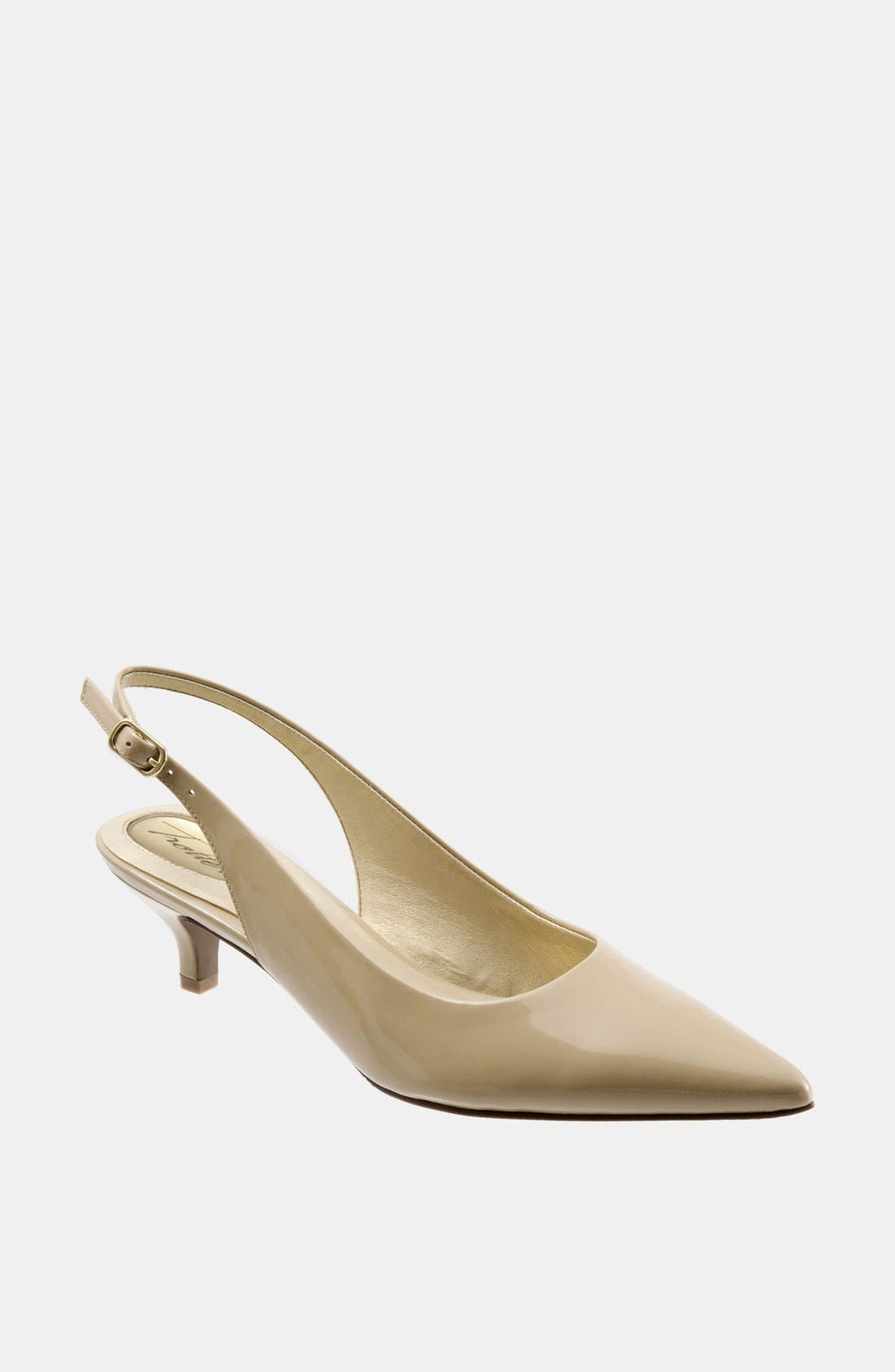 'Prima' Pump,                         Main,                         color, NUDE PATENT