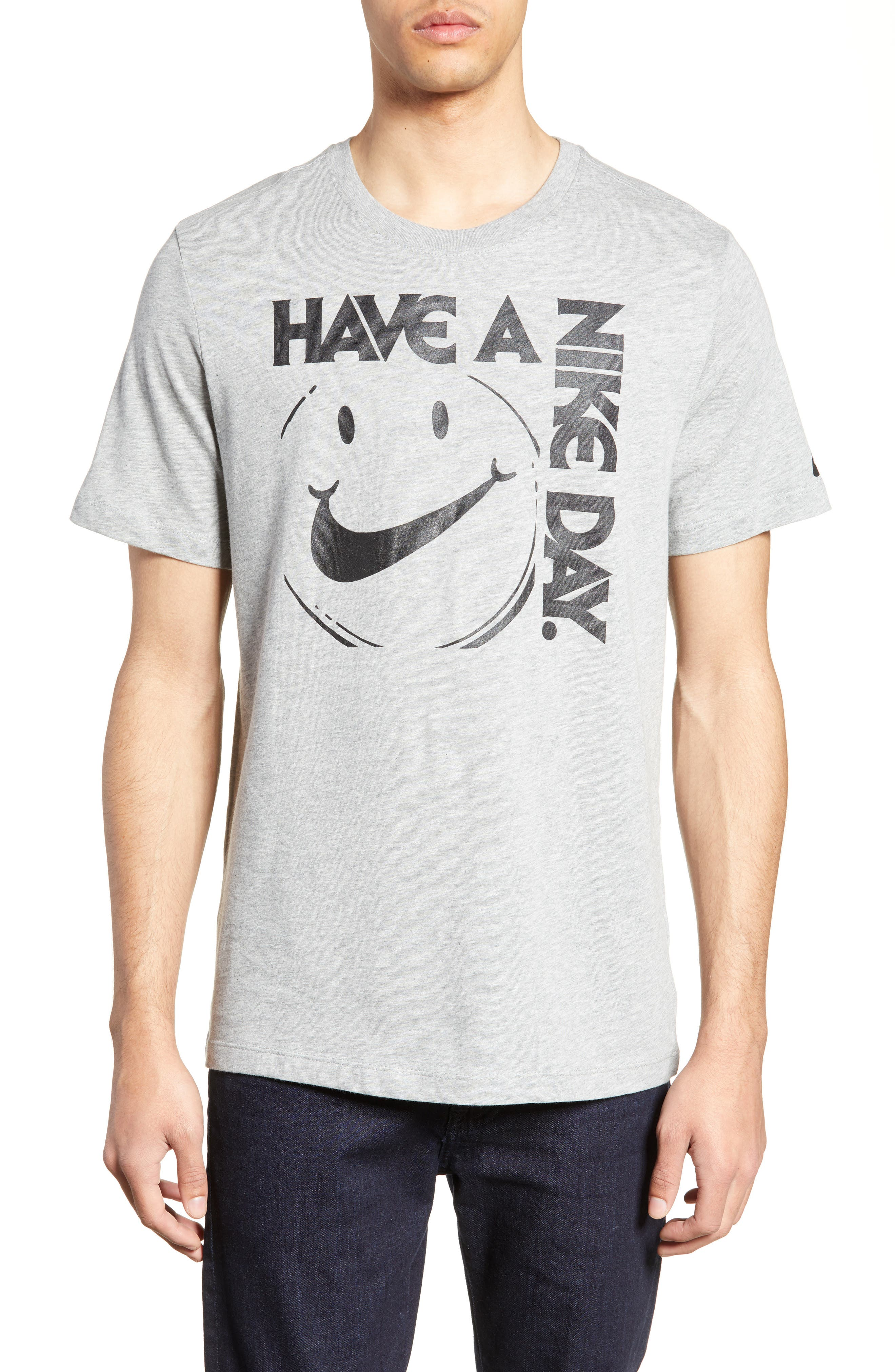 Nike Have A Nike Day T-Shirt, Grey