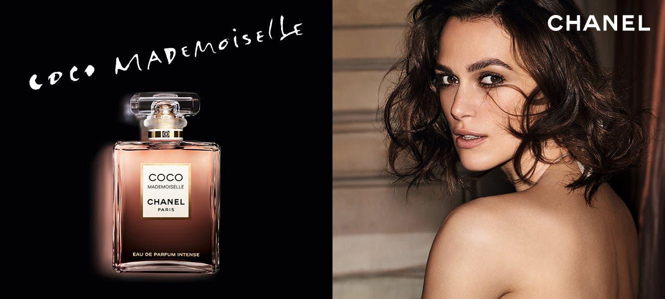 CHANEL Coco Mademoiselle Intense perfume.