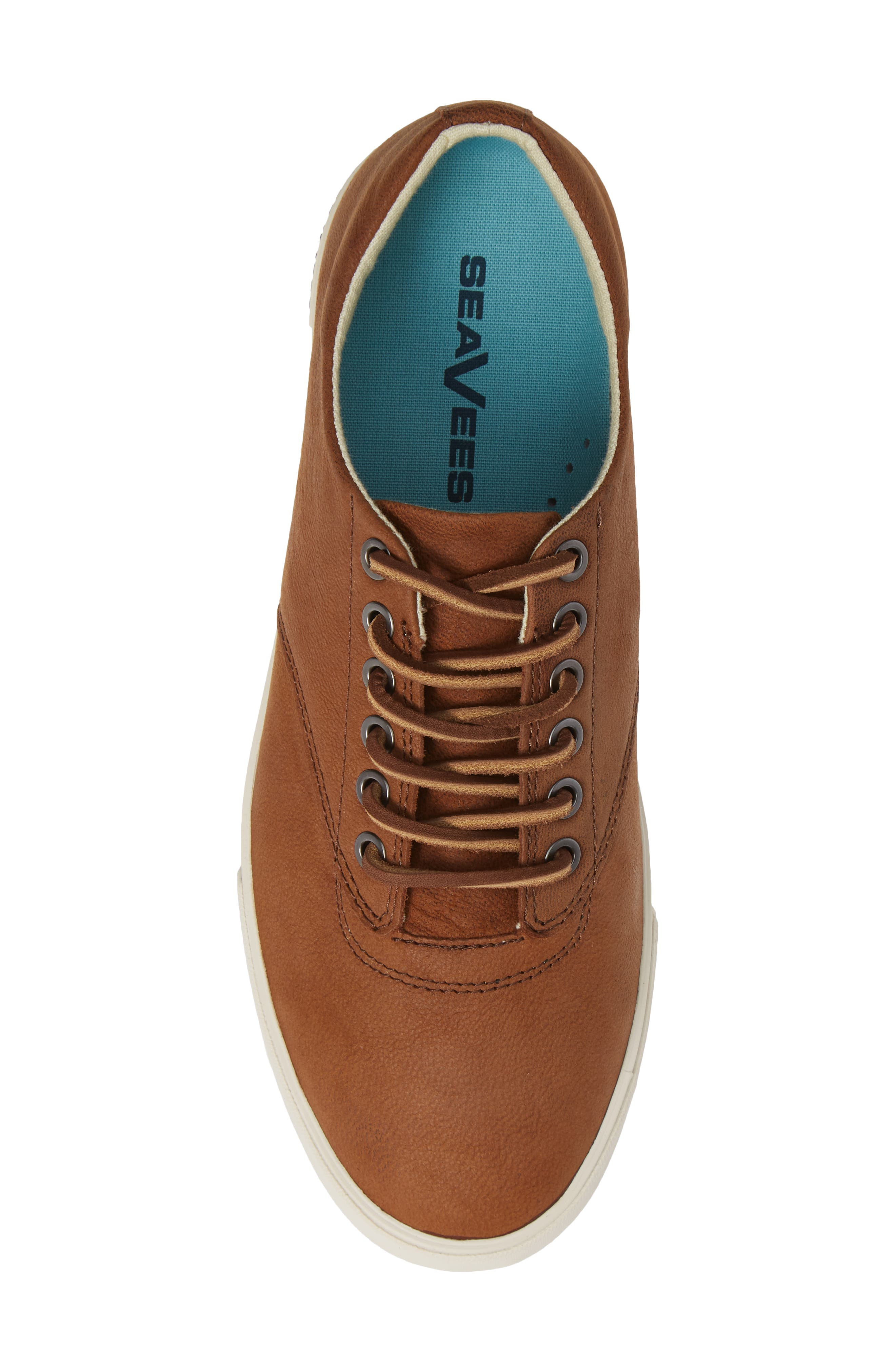 Hermosa Sneaker,                             Alternate thumbnail 5, color,                             WHISKEY LEATHER