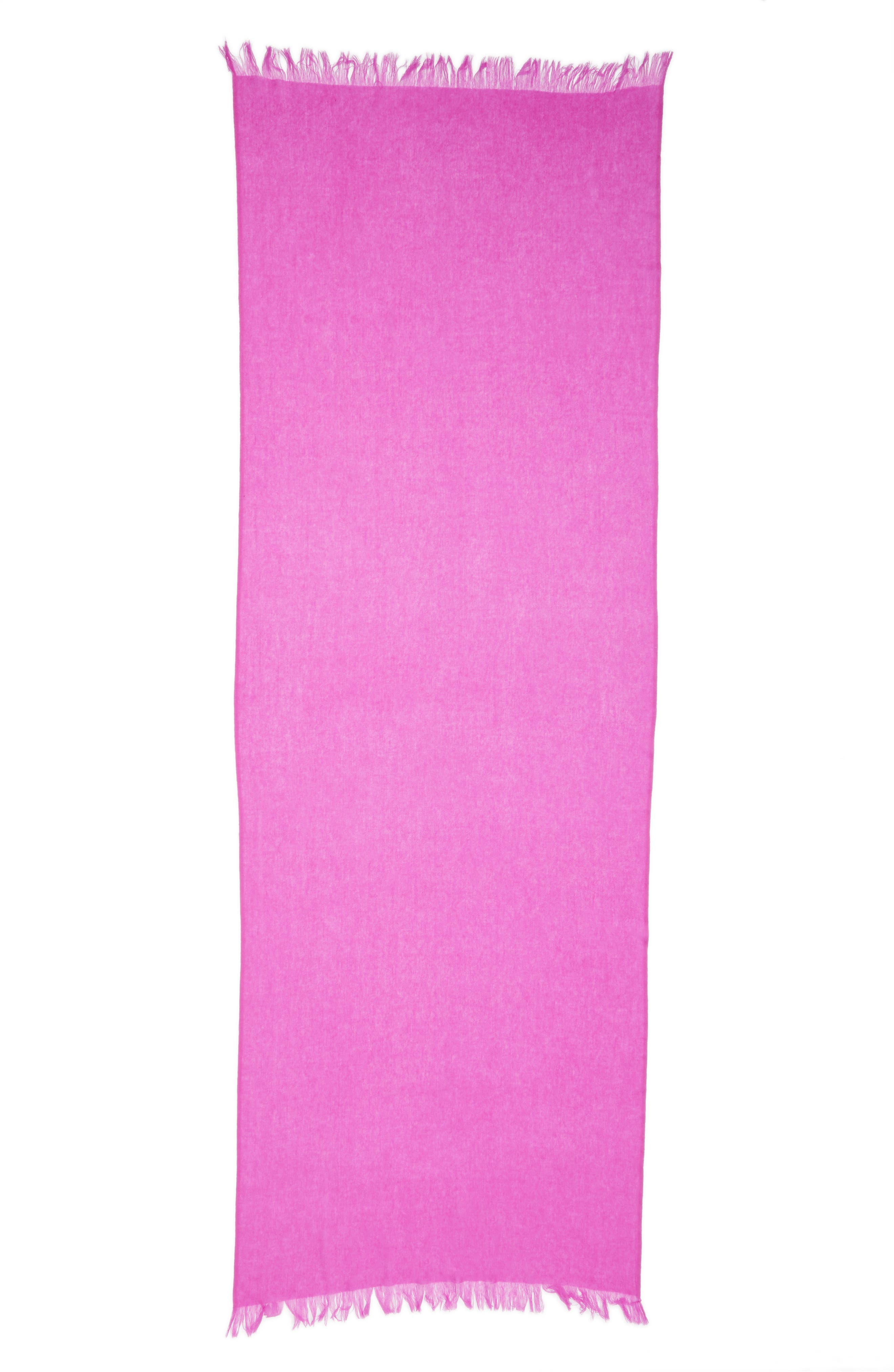 Caslon<sup>®</sup> Heathered Cashmere Gauze Scarf,                             Alternate thumbnail 22, color,